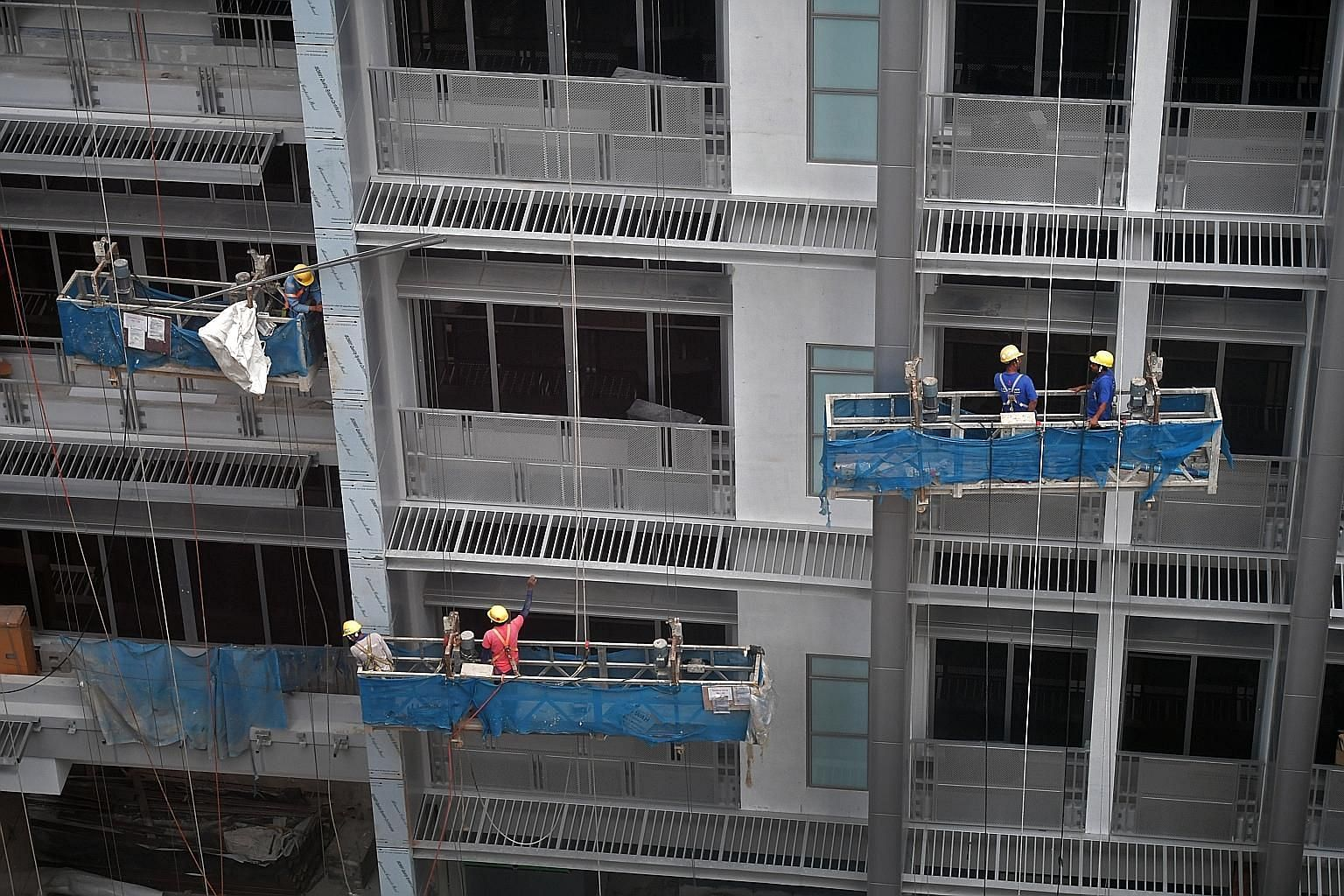 Last year, other than fatalities, 41 per cent of major injuries and 32 per cent of minor injuries in Singapore were caused by falls. The majority of the falls from height cases were in higher-risk sectors such as construction and marine, while slips,