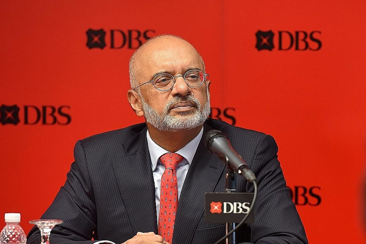 Many of DBS' customers use the digital form to engage with the bank, said Mr Piyush Gupta.