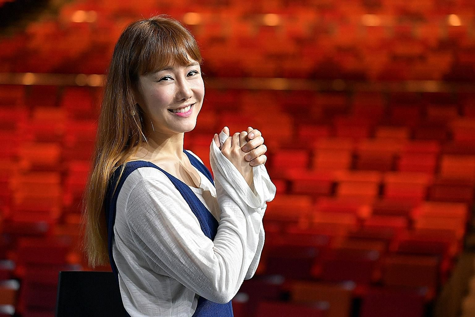 Sophie Kim was a successful musical actress in South Korea when she decided to move to New York in 2010 to further her career, despite not speaking much English then.