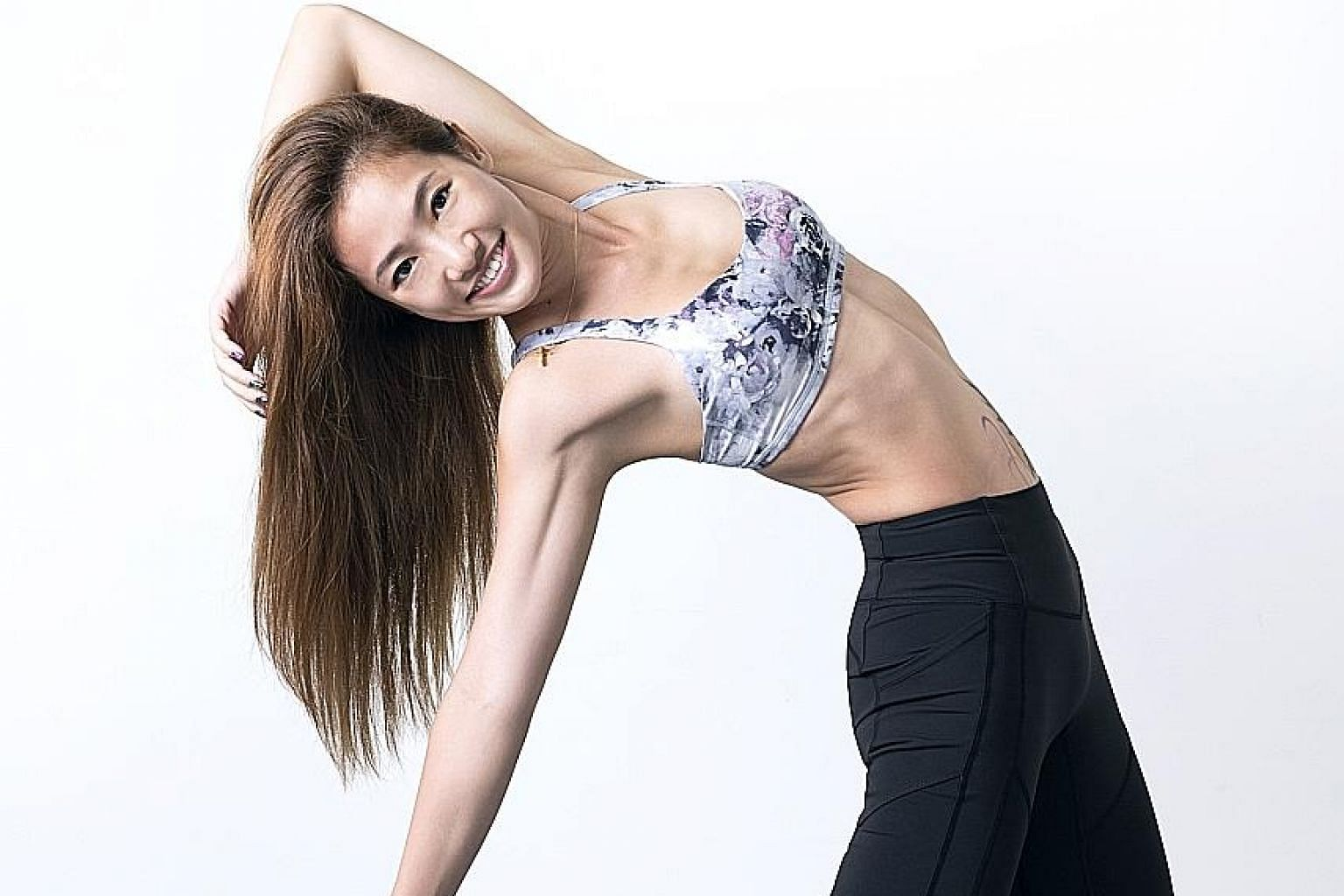 Yoga instructor Jasmine Chong will lead one of the workouts at the inaugural FitnessFest.