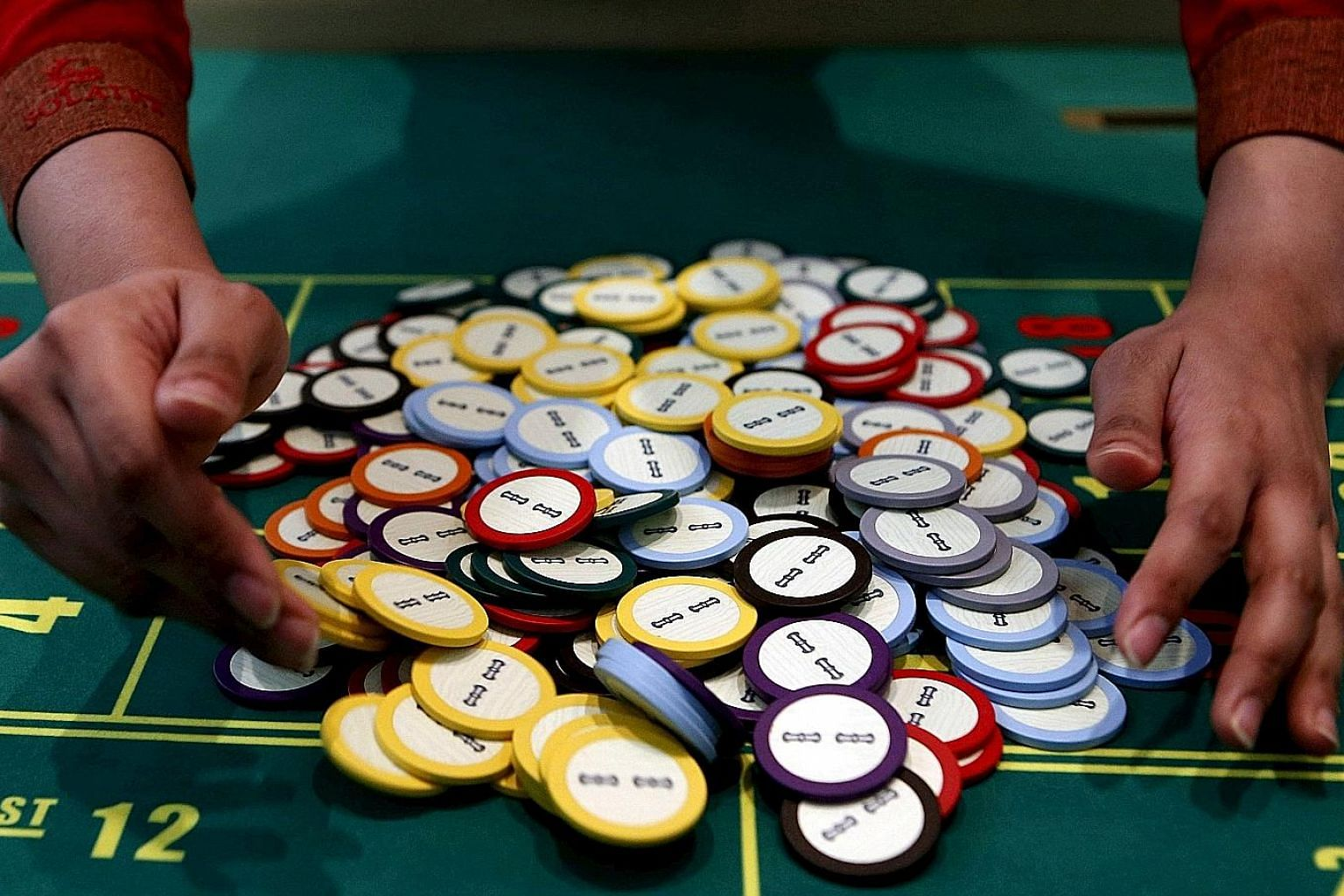 A roulette table at a casino in Manila. Casinos in the Philippines raked in nearly $4.2 billion in overall revenue last year.