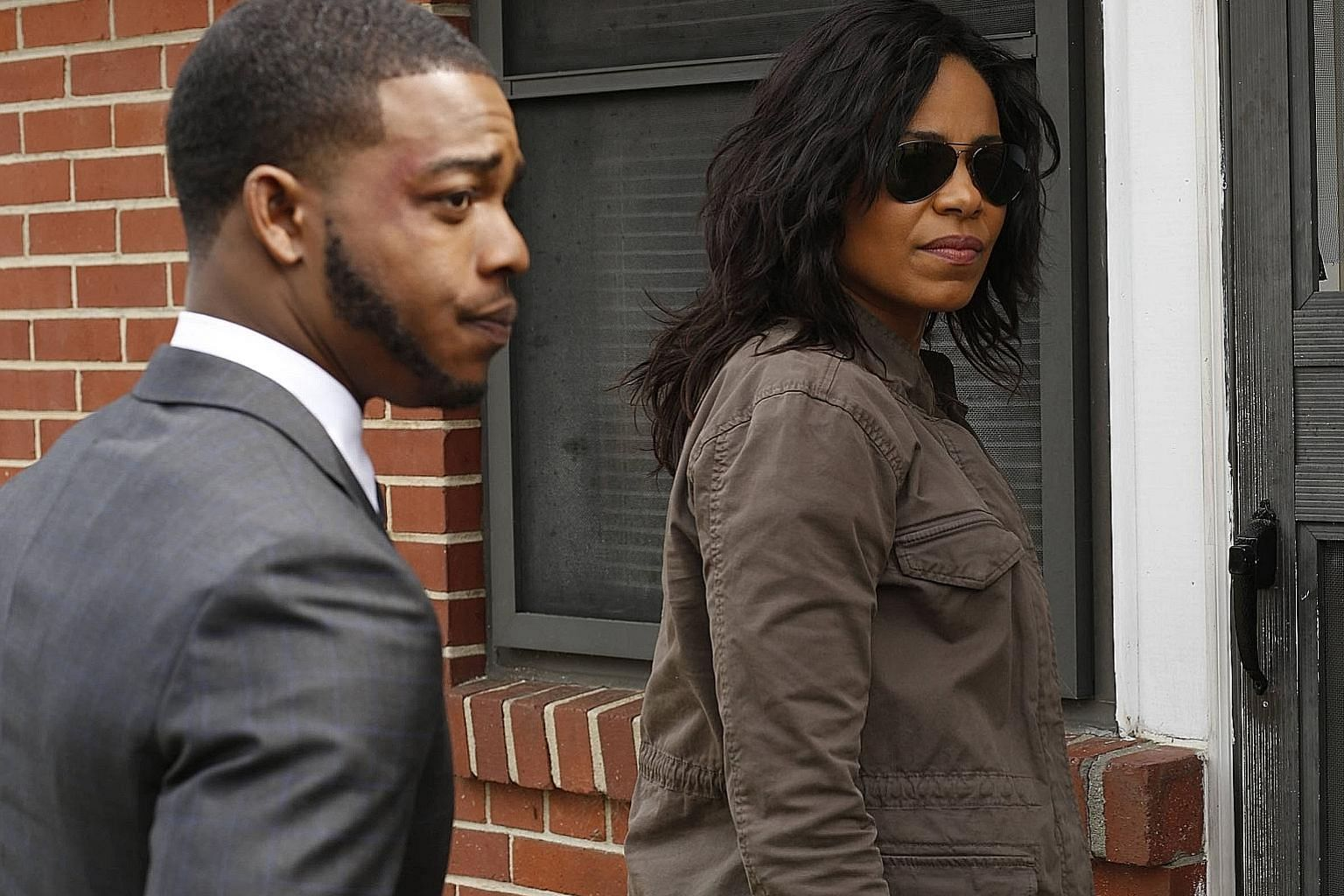 Stephan James plays the lawyer and Sanaa Lathan is the federal investigator in Shots Fired. The new crime drama was created by husband- and-wife screenwriters Gina and Reggie Bythewood.