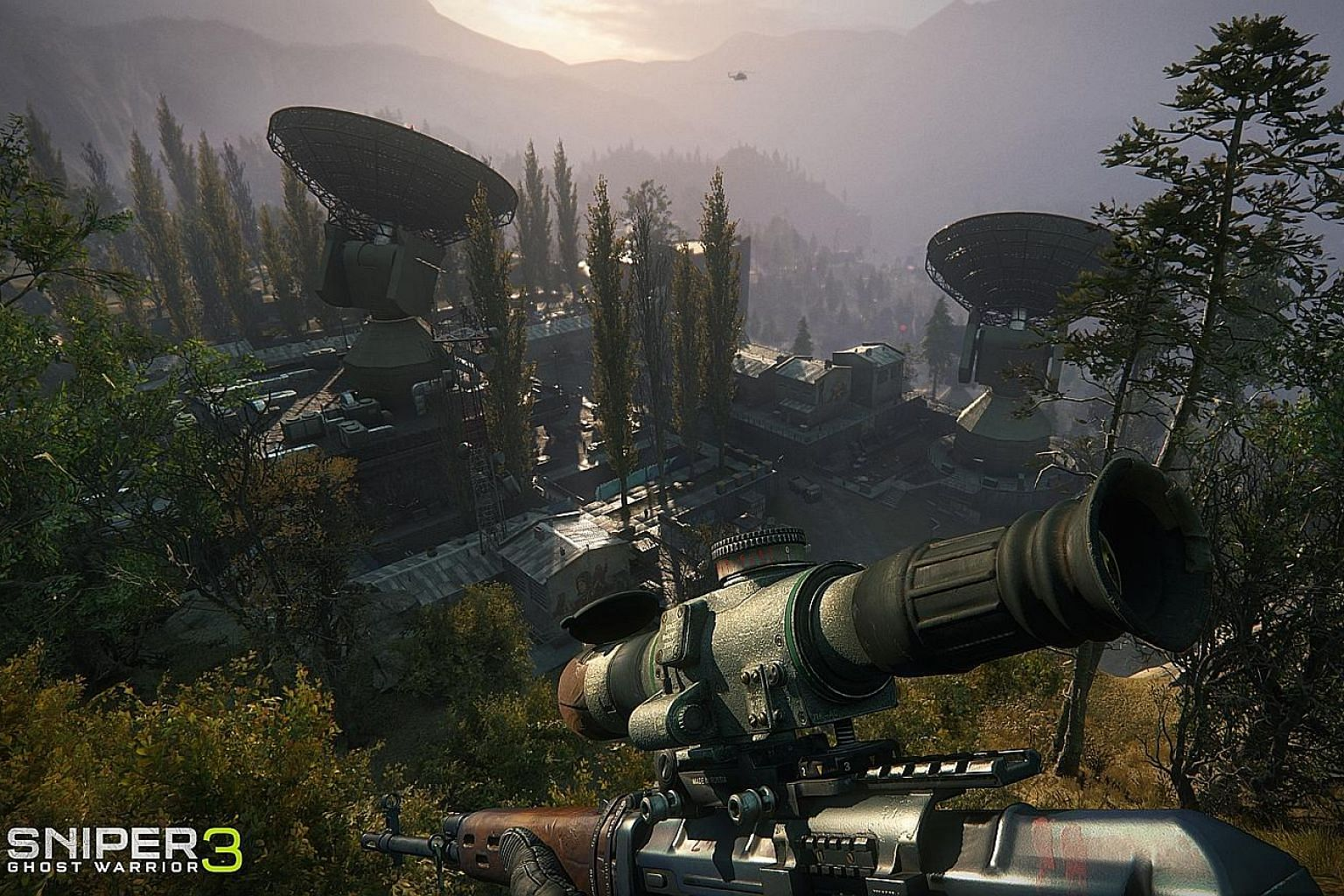 Set in a fictitious location in Georgia, there is a good mix of landscape to explore in Sniper Ghost Warrior 3.