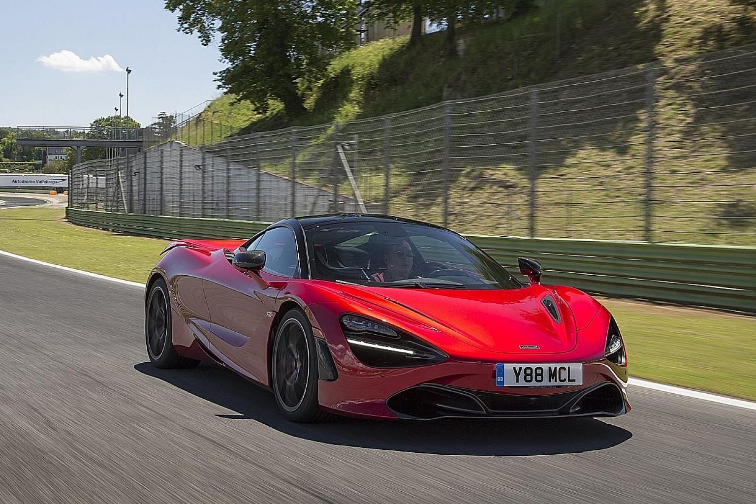 The McLaren 720S' gem of a motor offers razor-sharp power delivery and a titillating soundtrack through dual tailpipes. The cockpit has impressive all-round visibility for the driver.