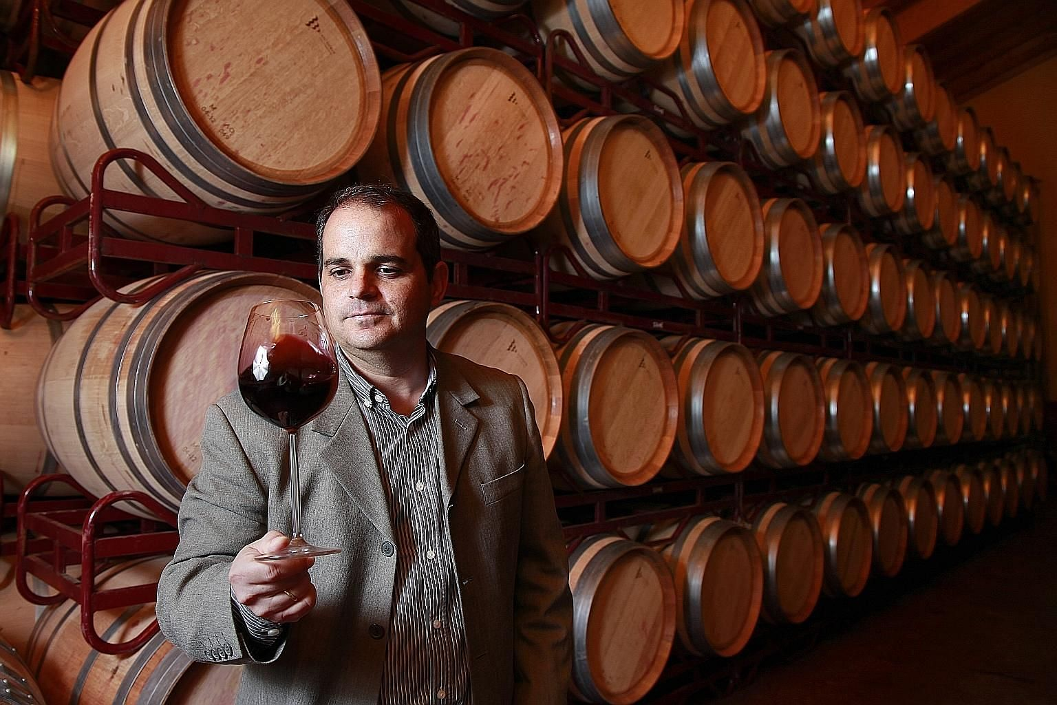 Spanish winemaker Javier Aladro says the wines of Ribera del Duero are powerful, elegant and complex.