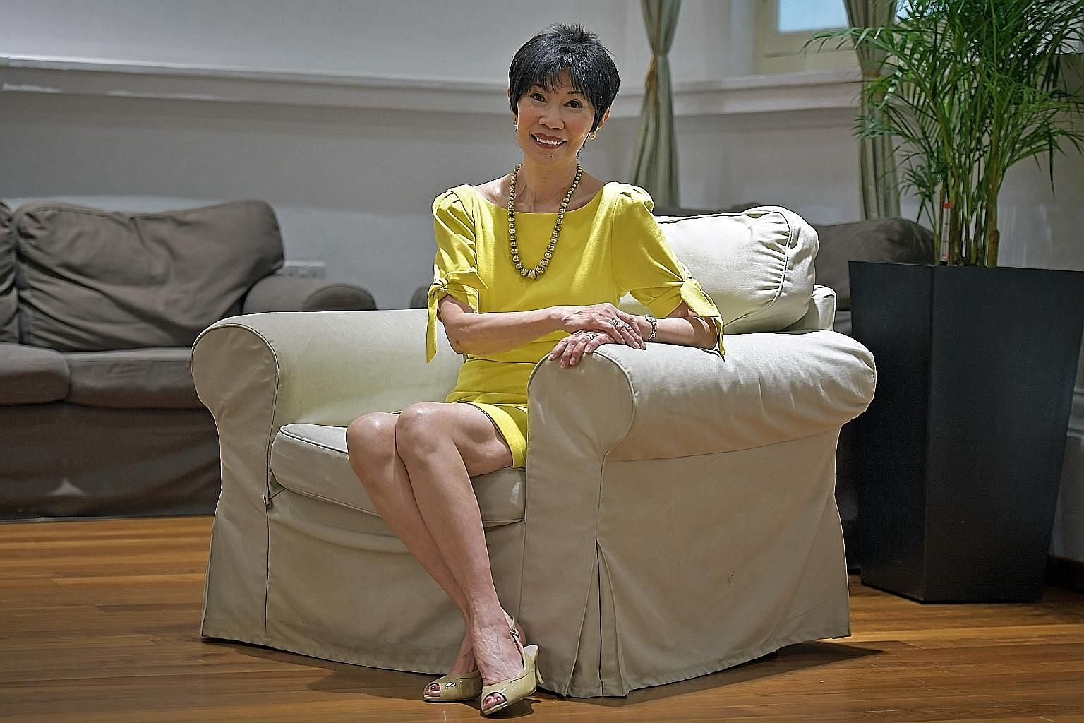 Catherine Lim focuses on the fear of death in An Equal Joy.