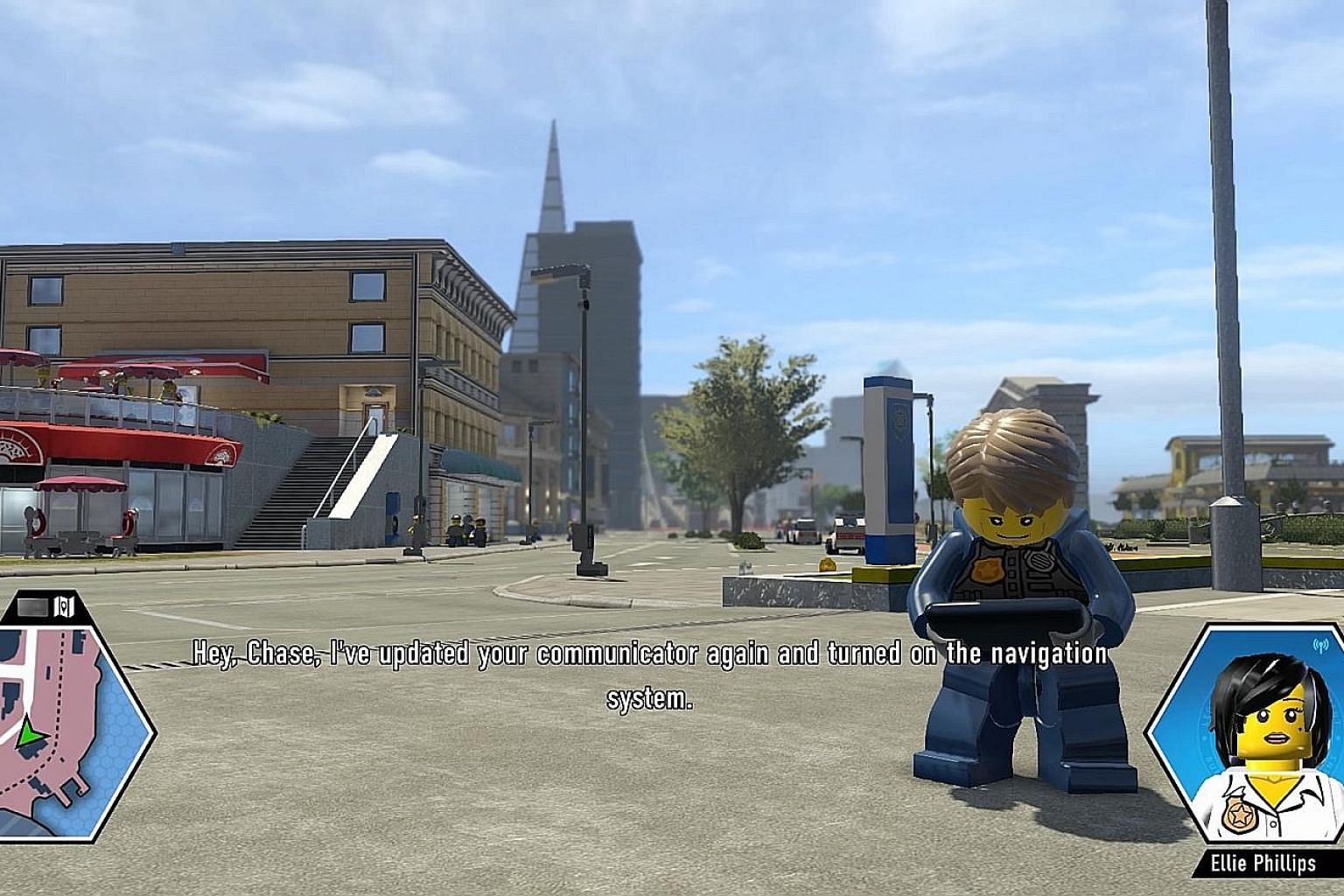 A family-friendly theme is maintained in Lego City Undercover.