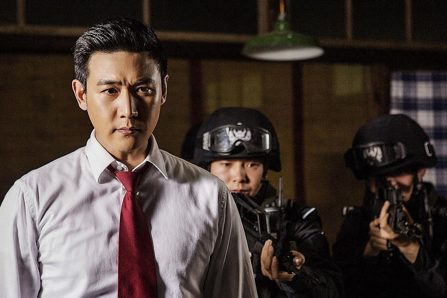 Lu Yi is an anti-corruption bureau chief in In The Name Of The People.
