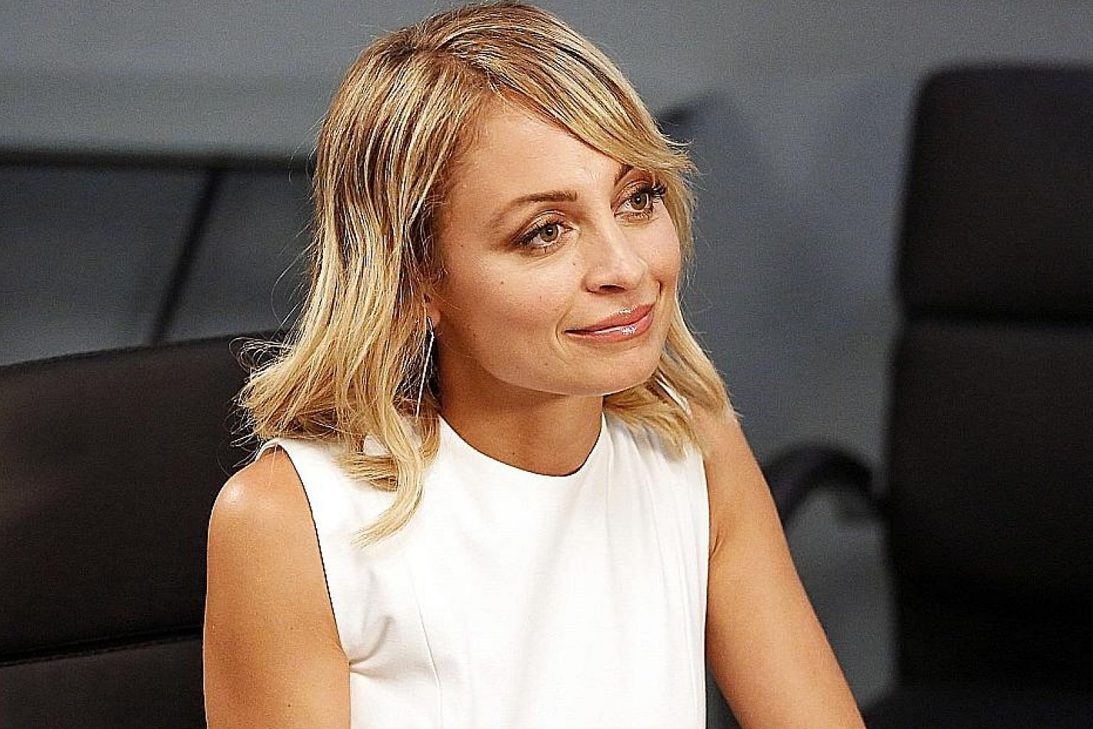 Nicole Richie plays a television anchor in Great News.