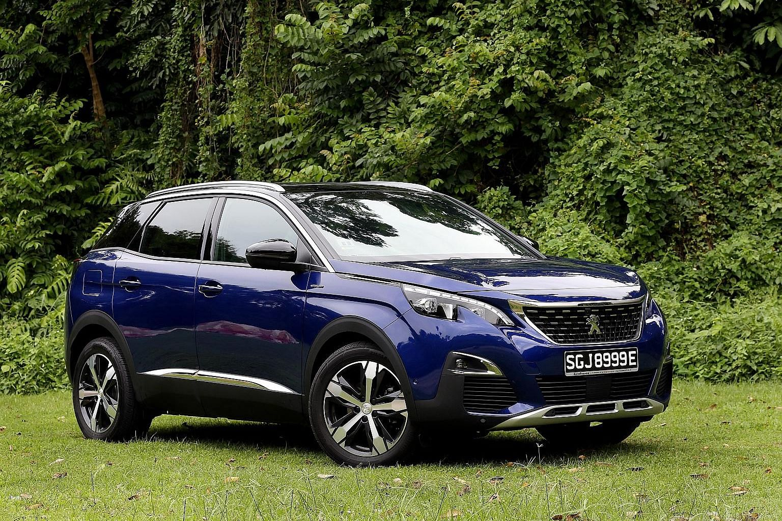 The Peugeot 3008 1.6 HDi provides smooth and linear steering and is highly driveable.