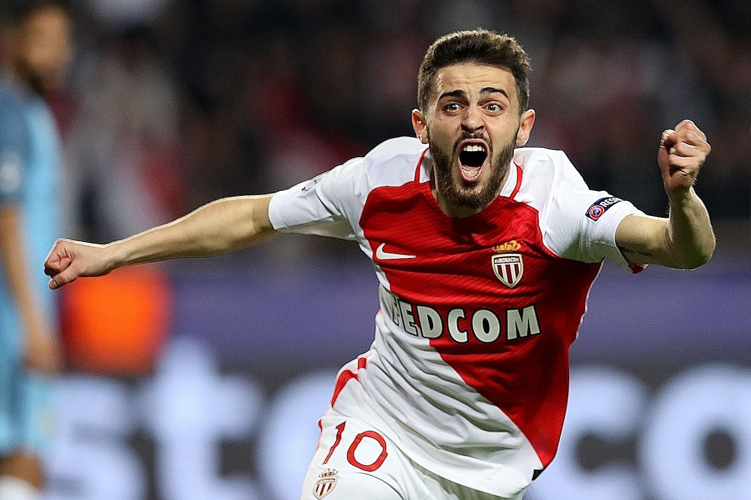 """""""Little Messi"""" Bernardo Silva, who came from Monaco, can play anywhere across the attacking midfield line, but is probably the best on the right."""
