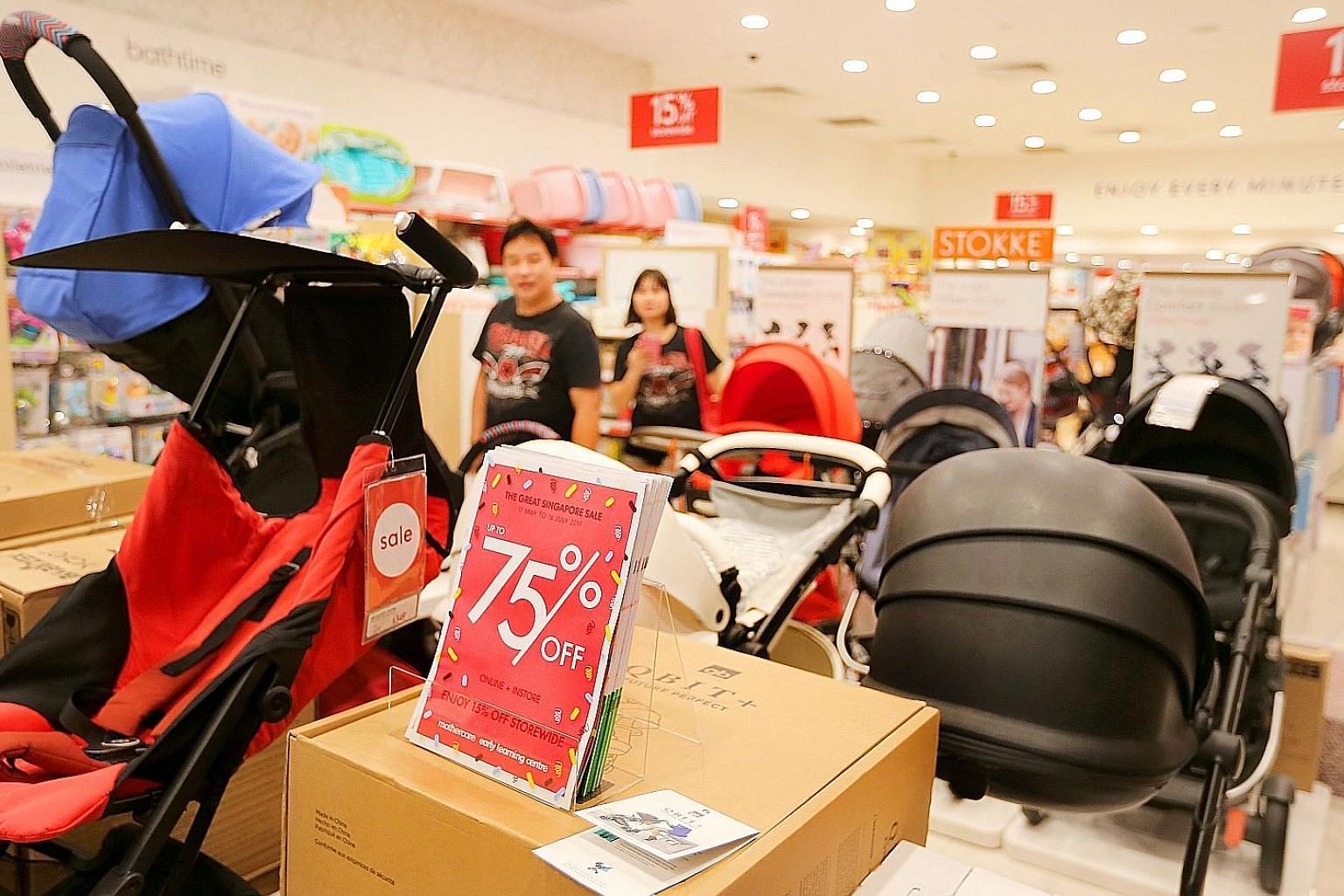 """Mothercare kicked off its sale on May 17 and plans to carry on until July 16, having seen """"very positive results"""" during last year's early sale."""