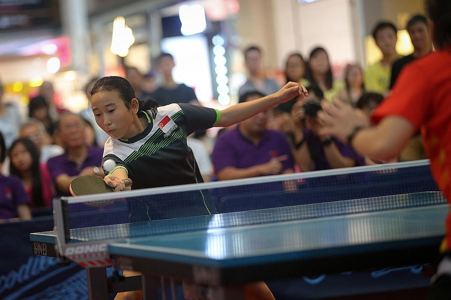 Zhou Jingyi from Nanyang Primary won the Primary 5-6 girls' singles title and aims to make it to the national team one day. May has been a good month for her, as she won two events in Bangkok earlier.