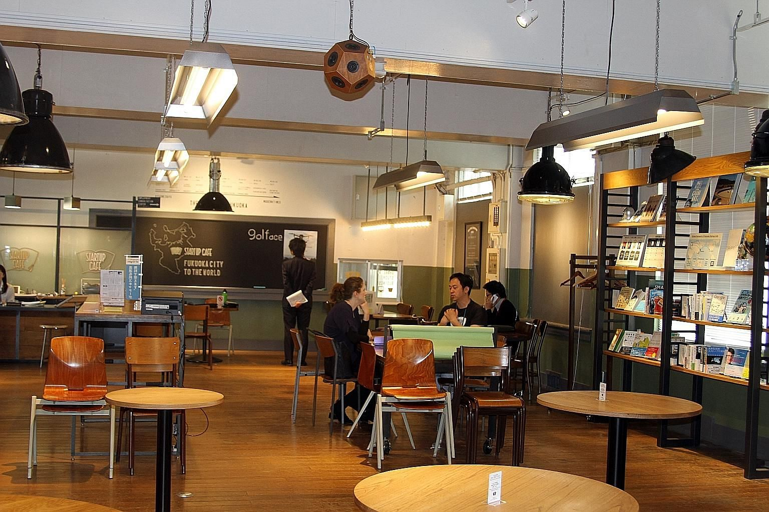 The Startup Cafe, run by the Fukuoka City government, provides consultation services to budding entrepreneurs keen to launch businesses in the city.