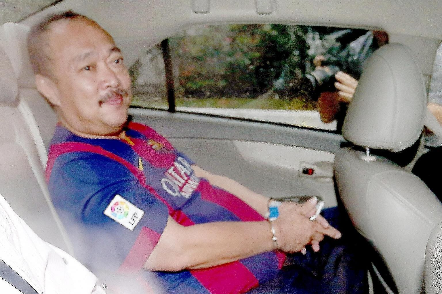 Toh Hock Thiam was jailed for seven years and four months. He was found out only a week after incident.