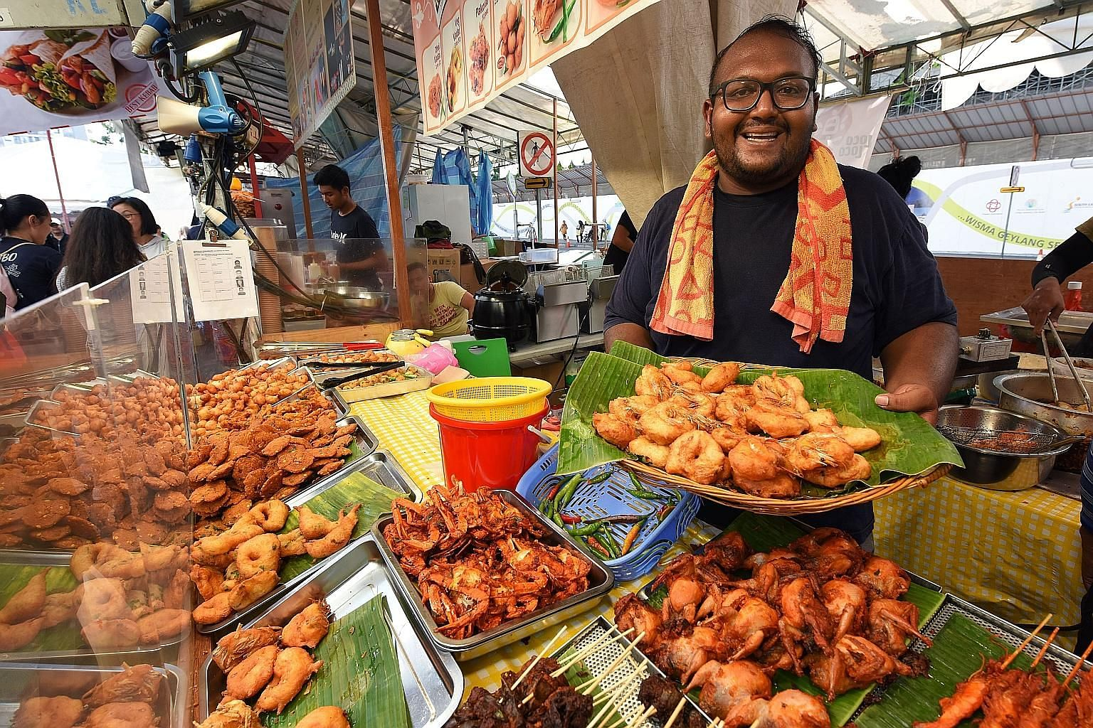 Mr Suriyah says it would be very hard not to take part in the bazaar as The Original Recipe has sold vadai there for the past 30 years.