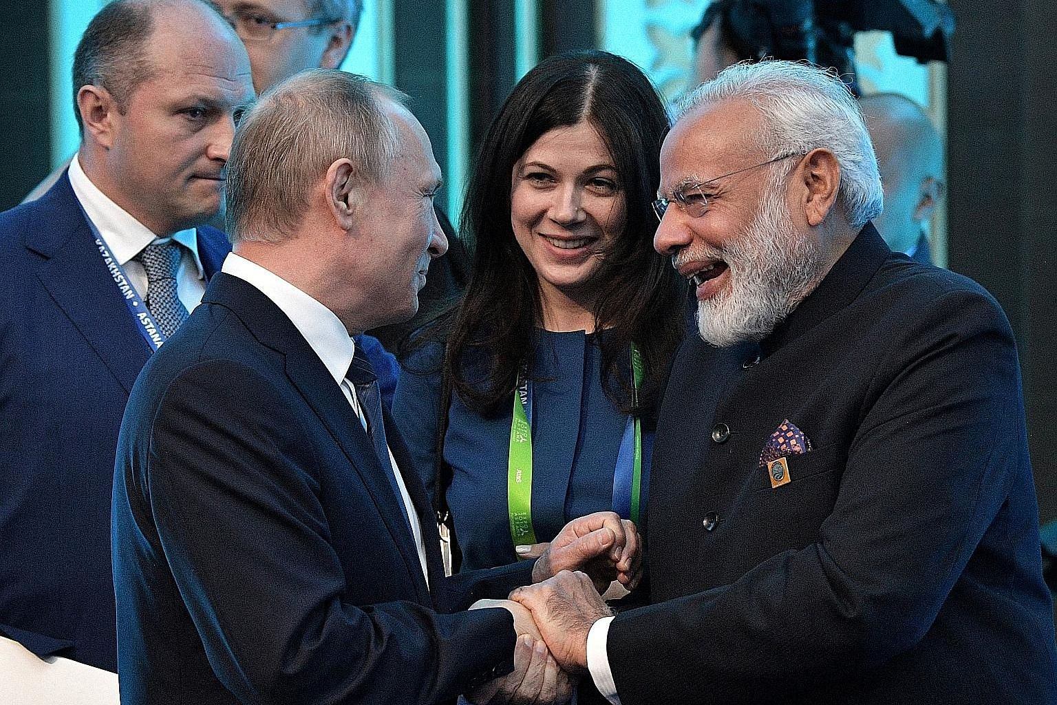 Indian Prime Minister Narendra Modi has just had a successful tour of Europe where he met Russian President Vladimir Putin last week. Mr Modi will be hoping for a similar good outcome when he meets President Donald Trump in the US later this month.