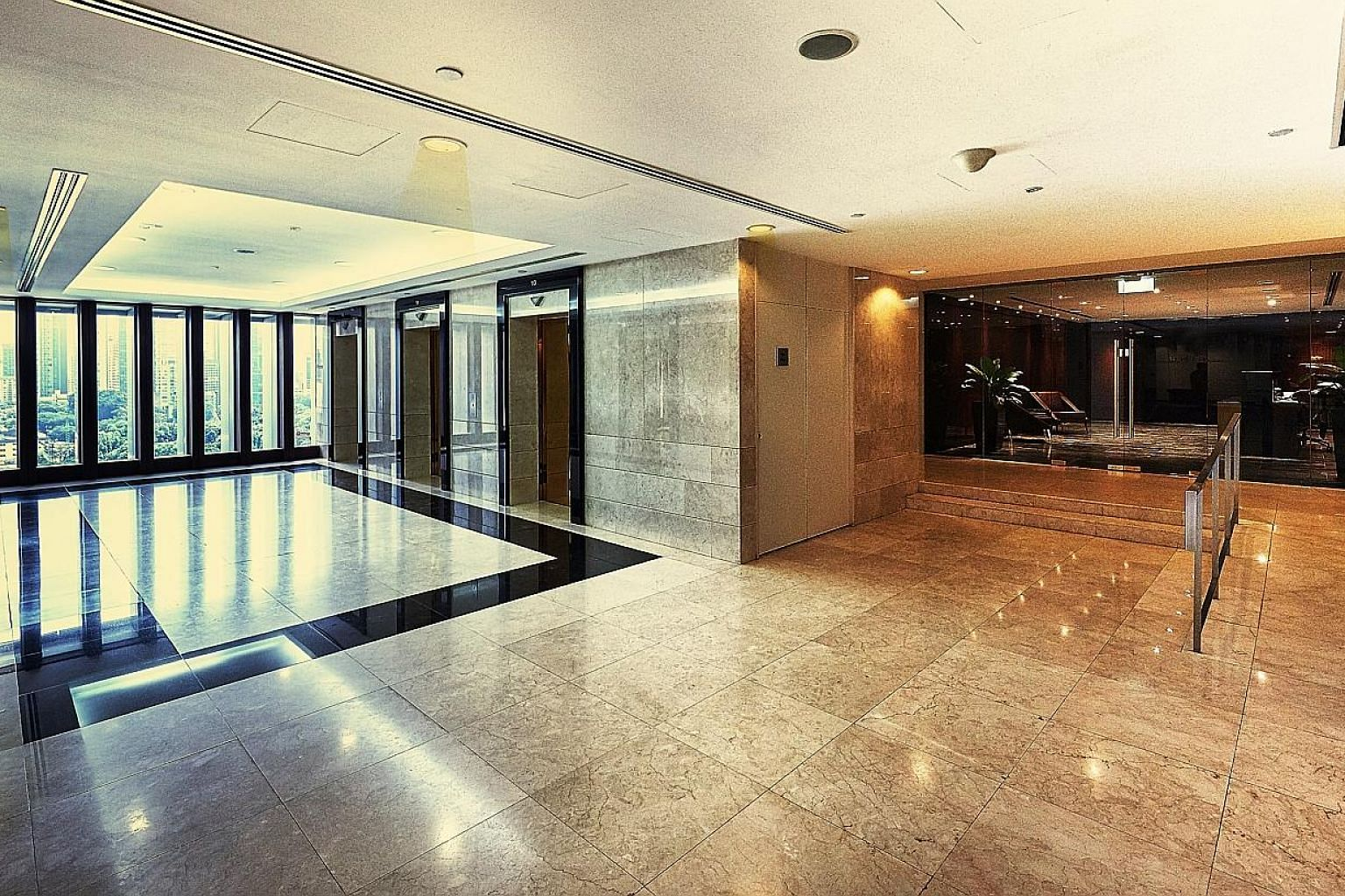 This 17th-floor office space at Somerset Tower generates a yield of 3.5 per cent per year, said marketing agent CBRE. Capital markets director Sammi Lim said the agent expects to receive strong offers in excess of $31.4 million, or $2,980 per sq ft,