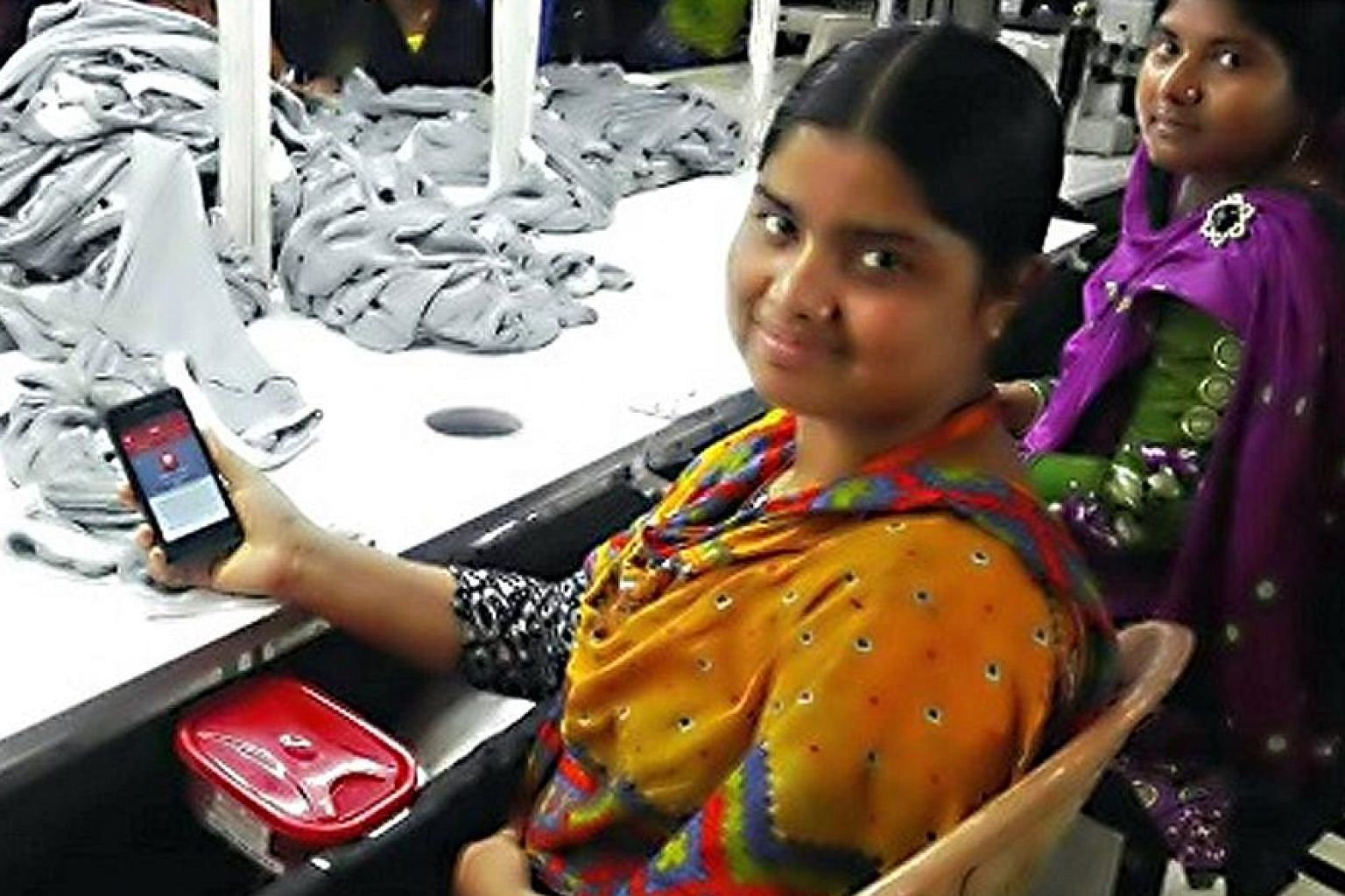Kutumbita's app aims to empower garment workers and foster better communication between them and their employers.