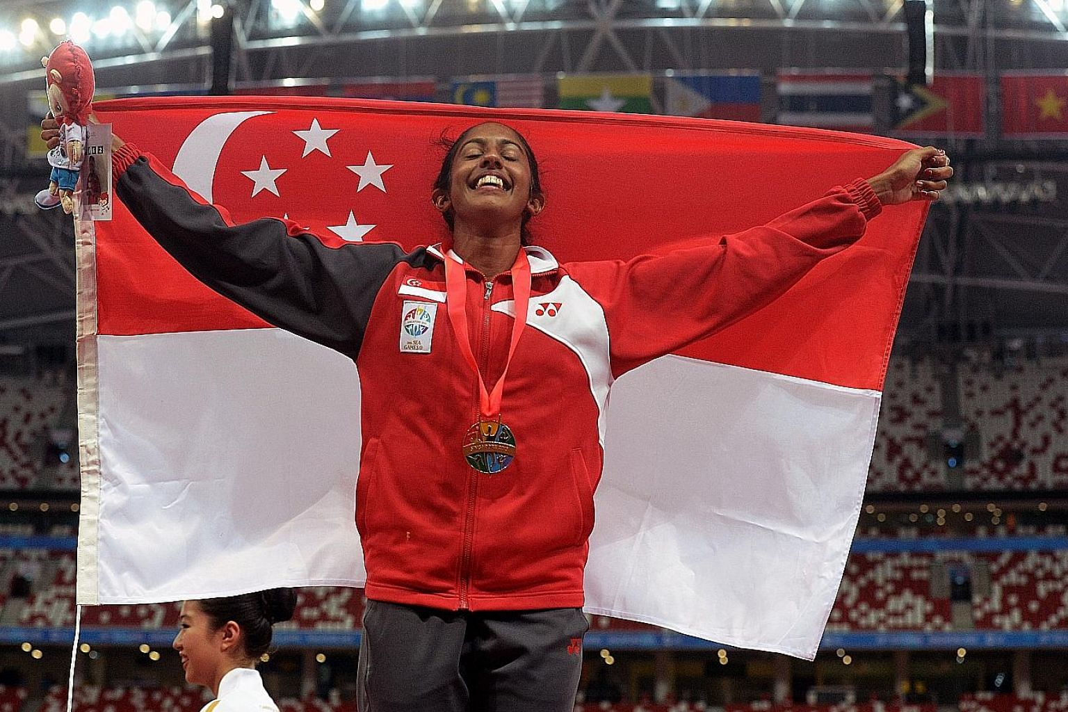 Shanti Pereira's 200m gold was one of the highlights of the 2015 SEA Games in Singapore. However, her preparations for her title defence have been marred by officials' bickering.