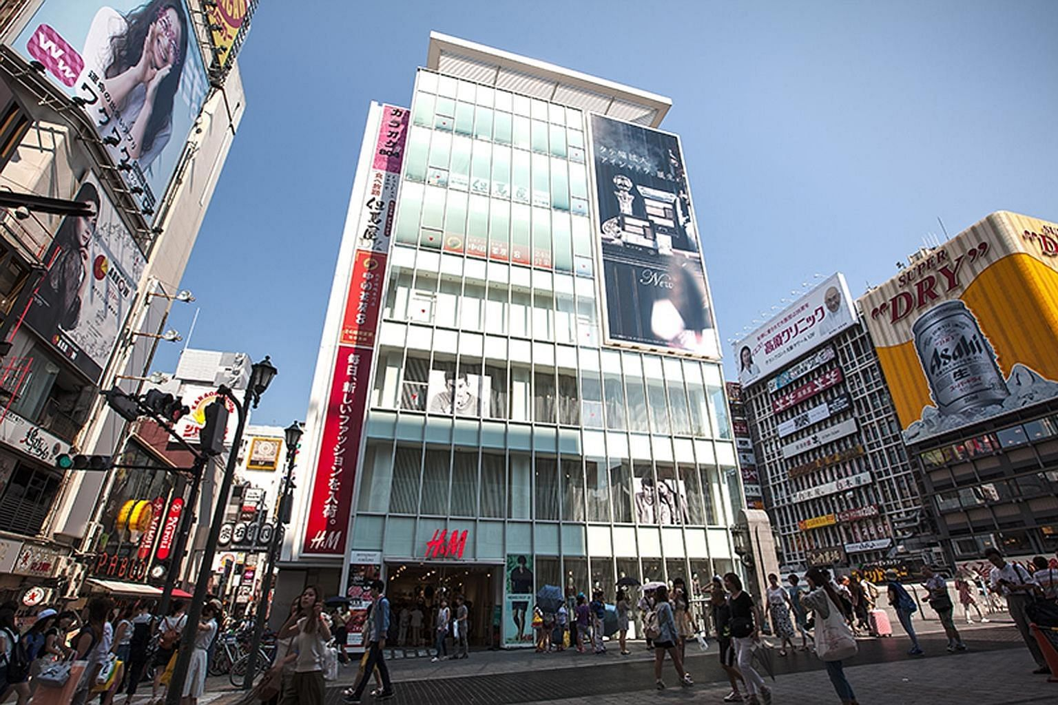 Croesus Shinsaibashi in Osaka, one of the Japan-based retail business trust's 11 malls in Japan - which add up to a $1.4 billion portfolio. The trust had four malls when it was listed in 2013.