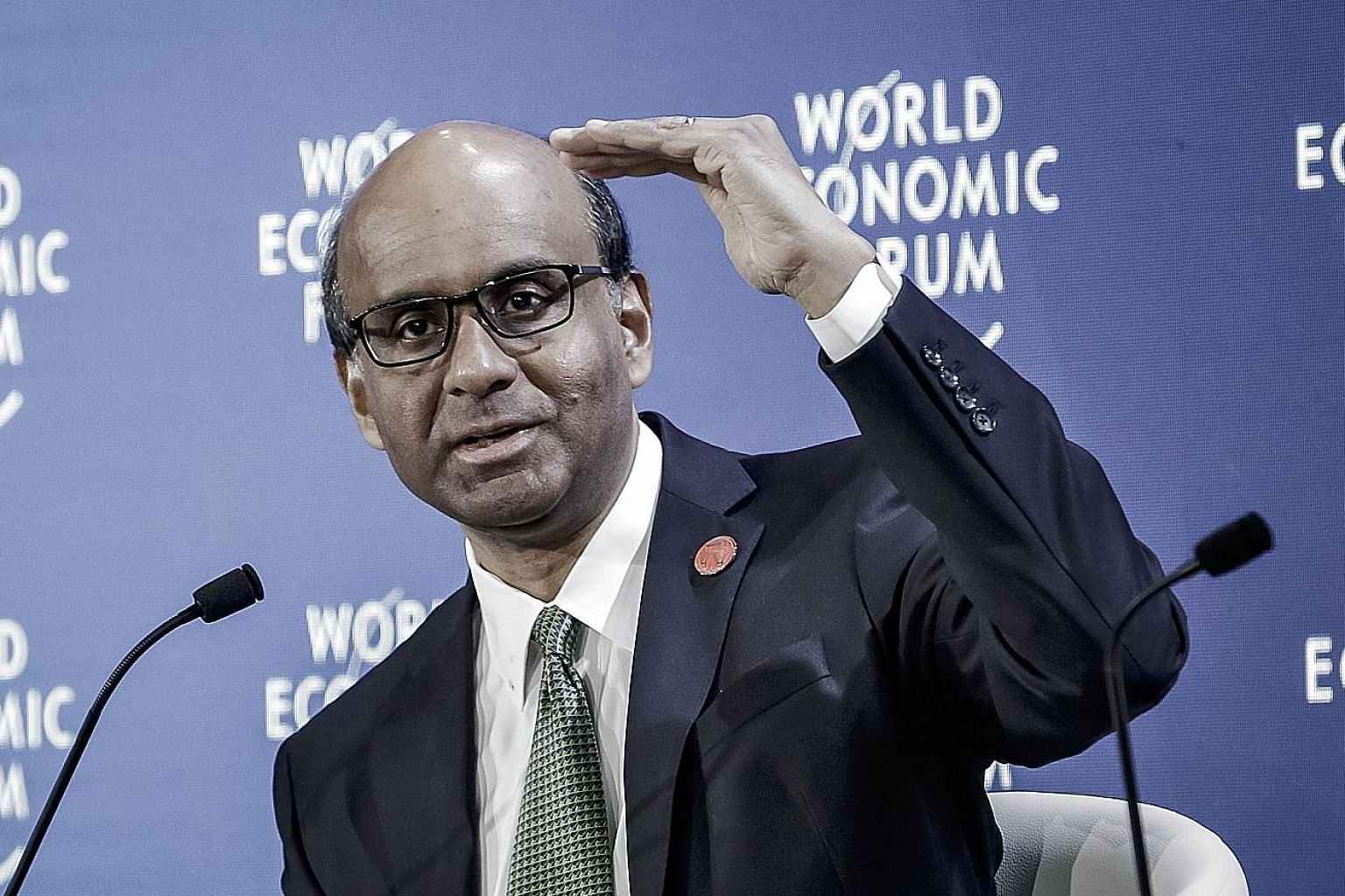 Deputy Prime Minister Tharman Shanmugaratnam said in Dalian yesterday that most companies fail to capitalise on cutting-edge technology, whether they are small, medium or large in size, with only the leaders in some sectors advancing innovations.