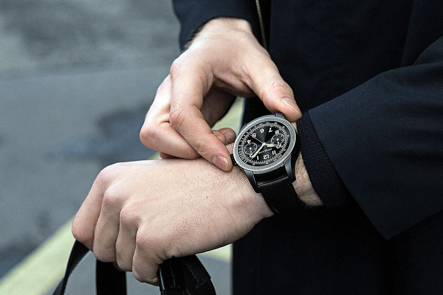 """Montblanc's Summit is an exquisitely crafted timepiece with its """"premium-ness"""" very evident the moment you strap it onto your wrist. Its 46mm-wide stainless-steel circular watch case feels as smooth as silk. The Summit is the first smartwatch to have"""