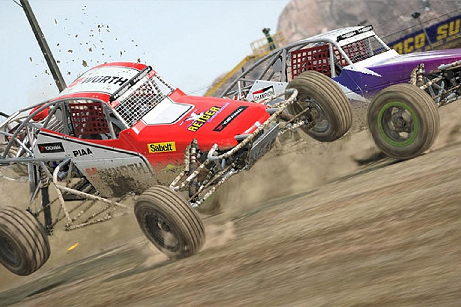 Dirt 4 has five rally locations - Australia, Spain, the United States, Sweden and Wales - which boast diverse looks and challenges.