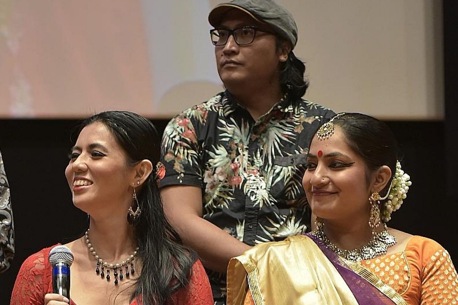 (From far left) Daphne Huang, Firmann Salim and Ponnamma Devaiah are among the artists who will be performing at the Singapore Night Festival.