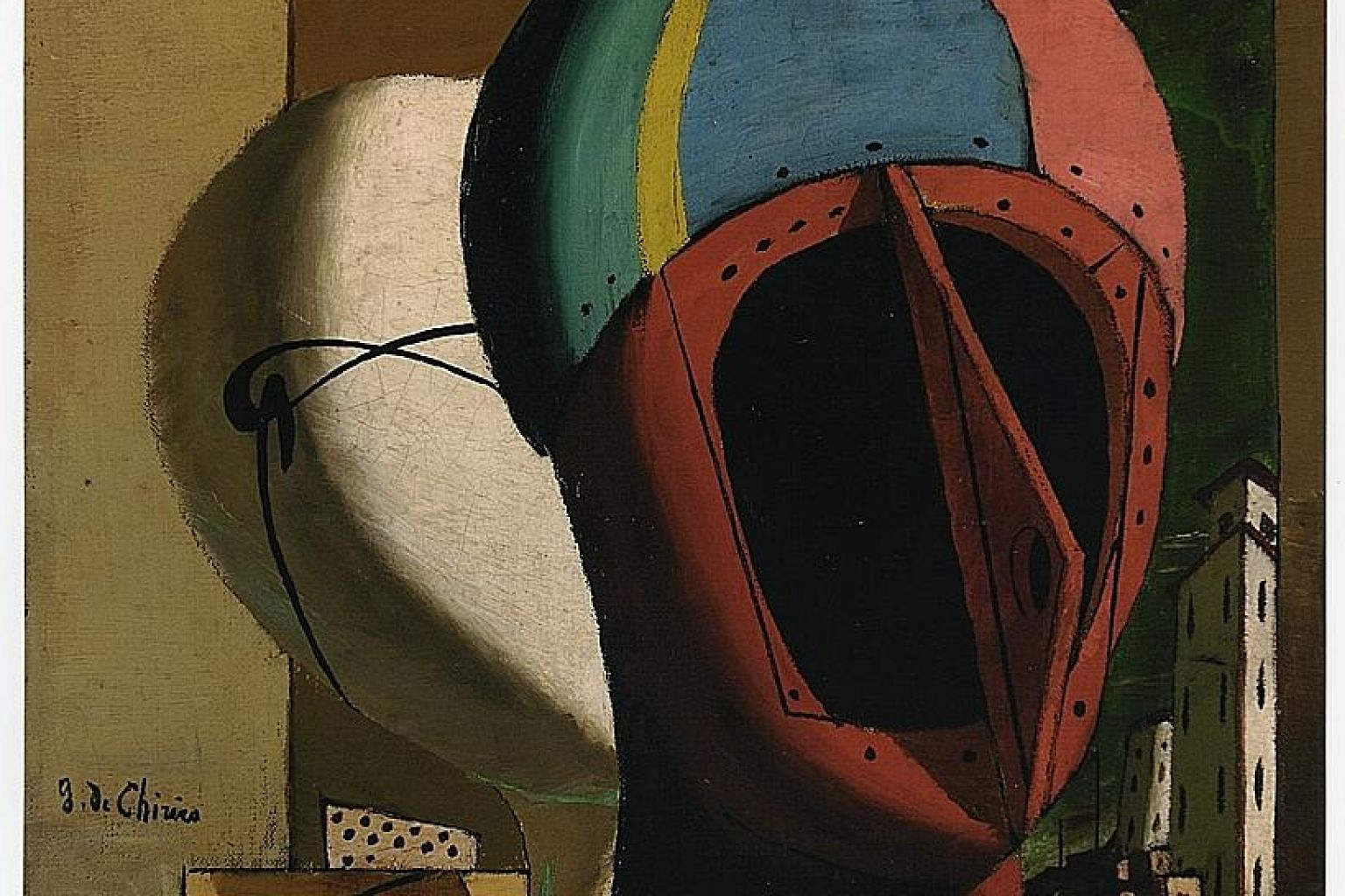 This work by artist Giorgio de Chirico is part of the private collection of entrepreneur Francesco Federico Cerruti, who died in 2015.