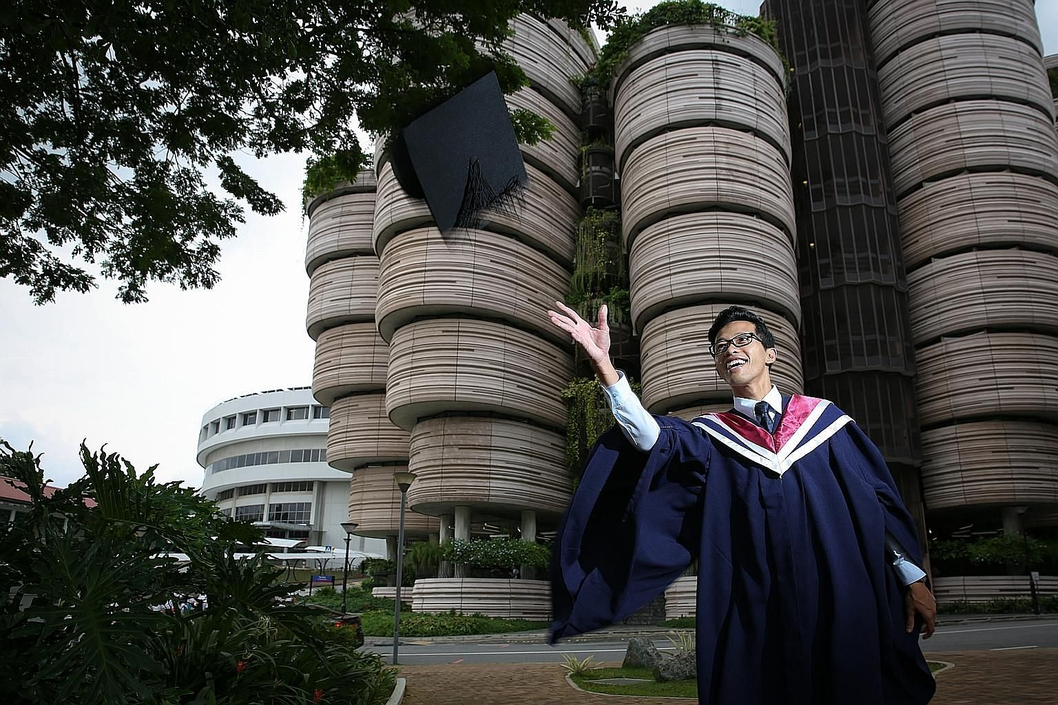 Mr Mohammad Syafiq Mohammad Suhaini, 26, is a Nanyang Technological University sociology graduate waiting to start his master's in sociology at Oxford University, after which he will take up a job as a research officer.
