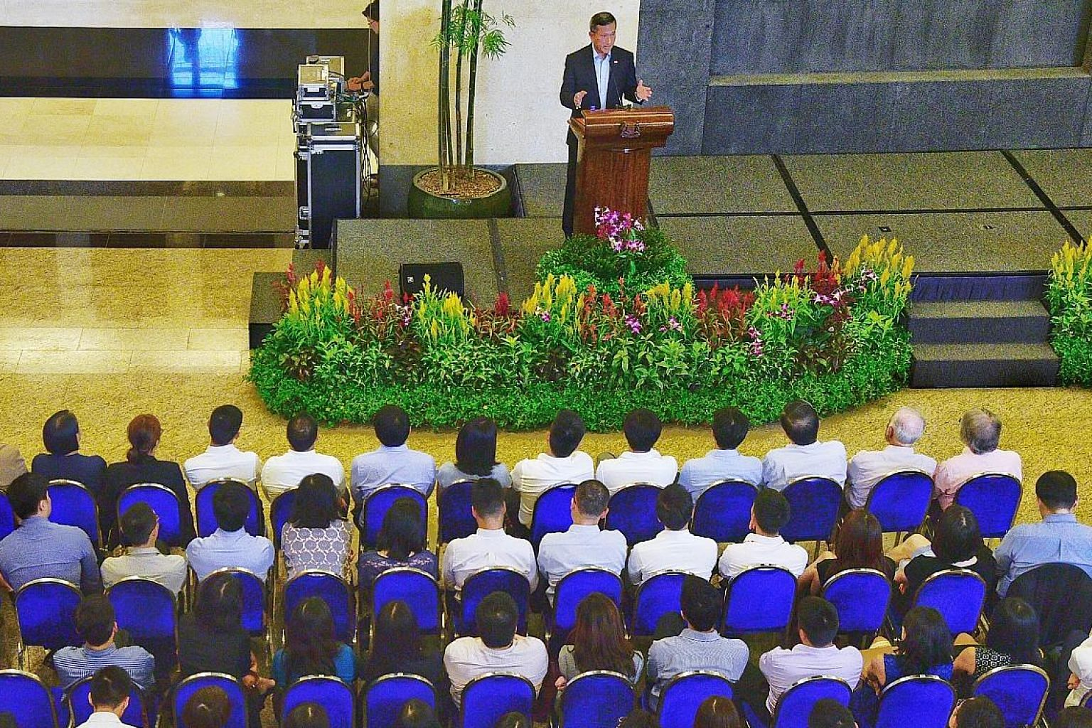 """At the townhall yesterday, Foreign Minister Vivian Balakrishnan called on MFA officers to """"anticipate frictions and difficulties from time to time"""" and be prepared to disagree if needed """"without being gratuitously disagreeable""""."""