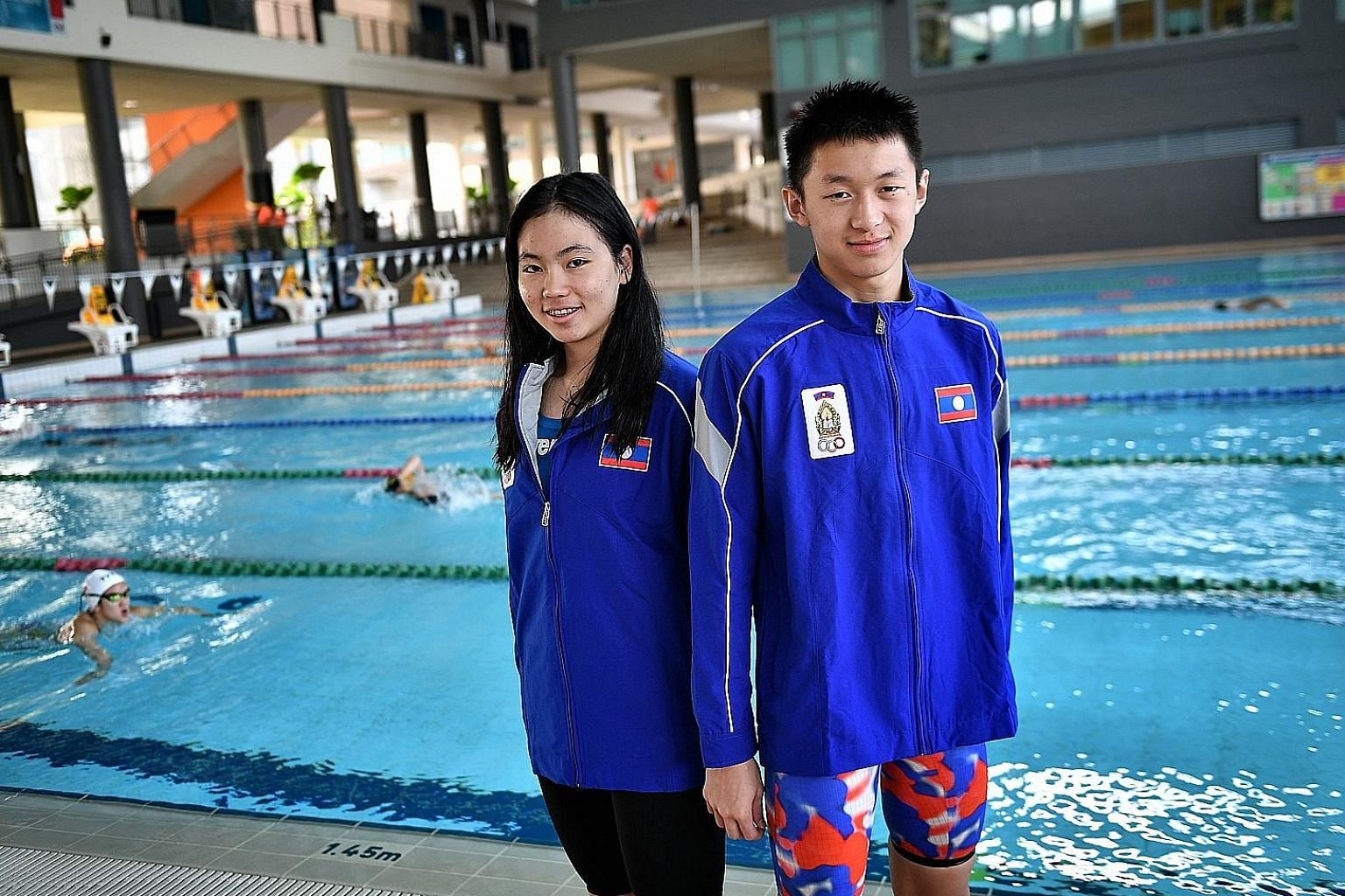 Laos' Siri Arun Budcharern and Santisouk Inthavong aspire to become better swimmers after receiving wild-card entries to compete at last year's Rio de Janeiro Olympics.