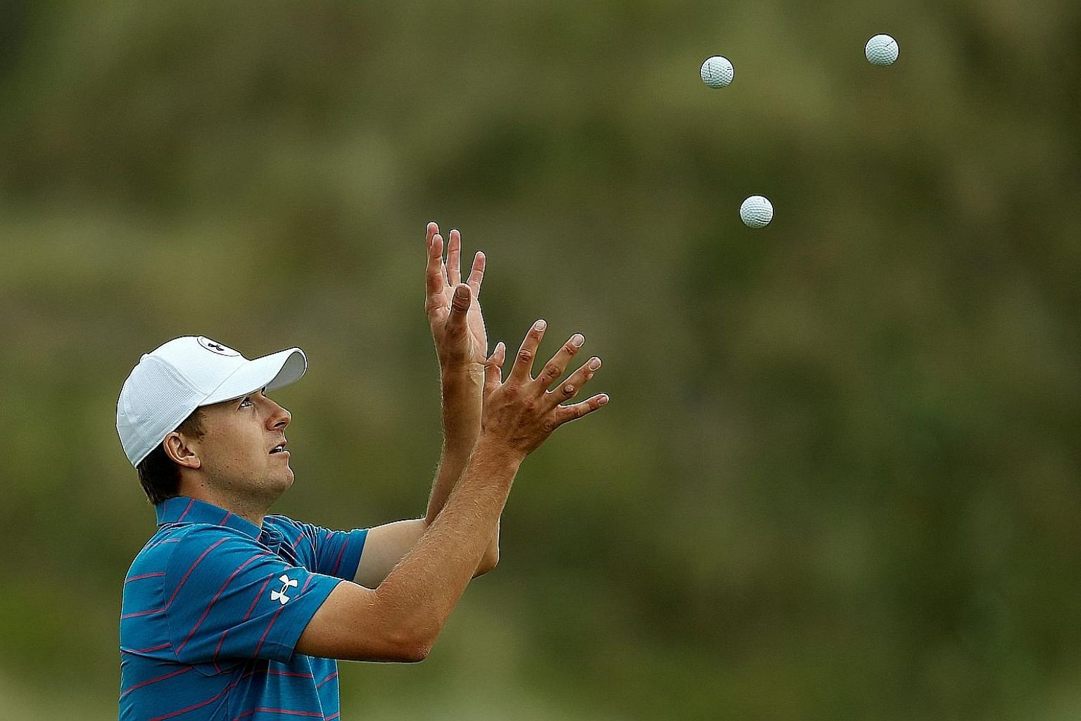 Jordan Spieth is hoping to catch the eye at this week's British Open. He has been tipped as one of the main contenders to lift the Claret Jug.