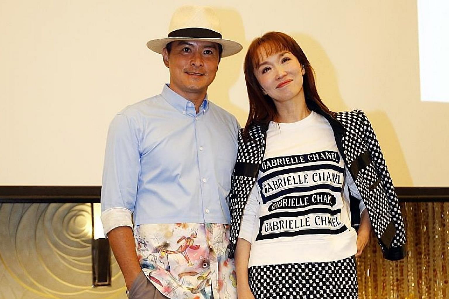 Actor Christopher Lee stars opposite his wife Fann Wong in the new Channel 8 drama Doppelganger.