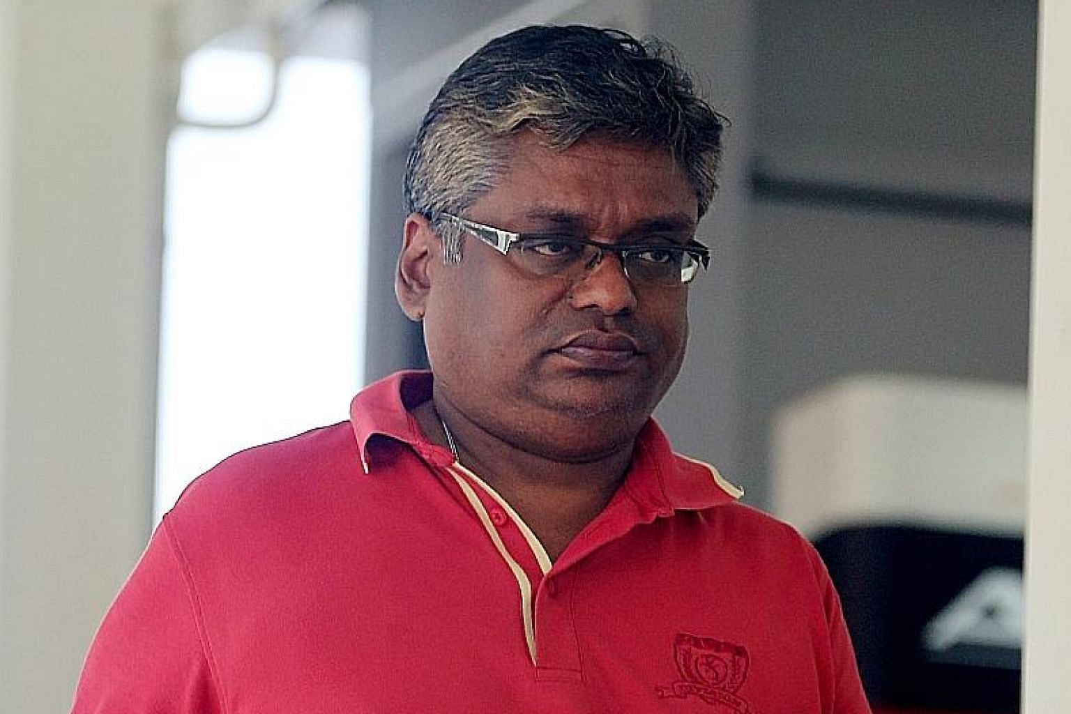 Eagle Flight Aviation Services owner Jeevan Arumugam (right) is accused of being Rajkumar Padmanthan's co-conspirator, while former RSAF engineer Sung Way Xiong faces one charge of corruption. Former RSAF engineer Rajkumar Padmanthan had business int