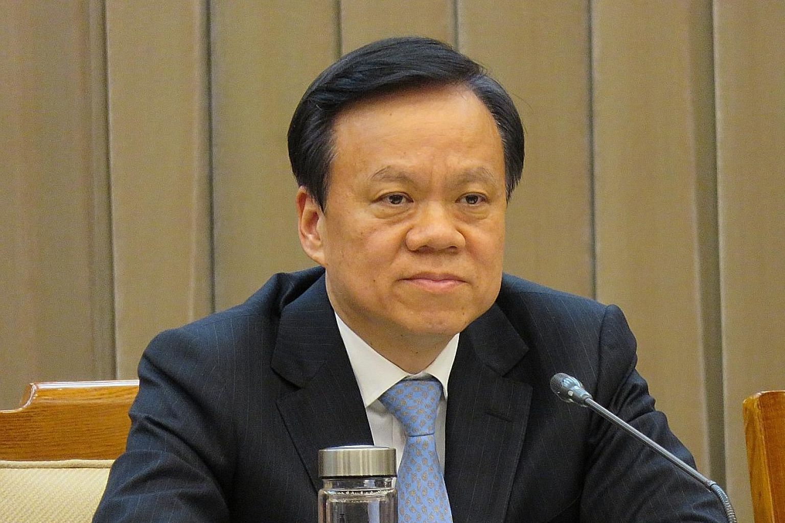 Mr Chen Min'er, who will be 57 in September, was until earlier this month the party secretary of one of the poorest provinces in China.