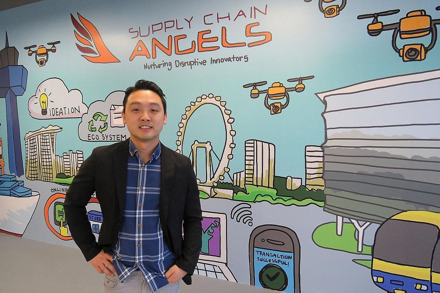 "Mr James Ong, a partner of Supply Chain Angels, the venture arm of logistics company YCH Group, says that a ""significant portion"" of the $20 million fund's deal flow originated from the business connections of YCH, and that such recommendations are the be"