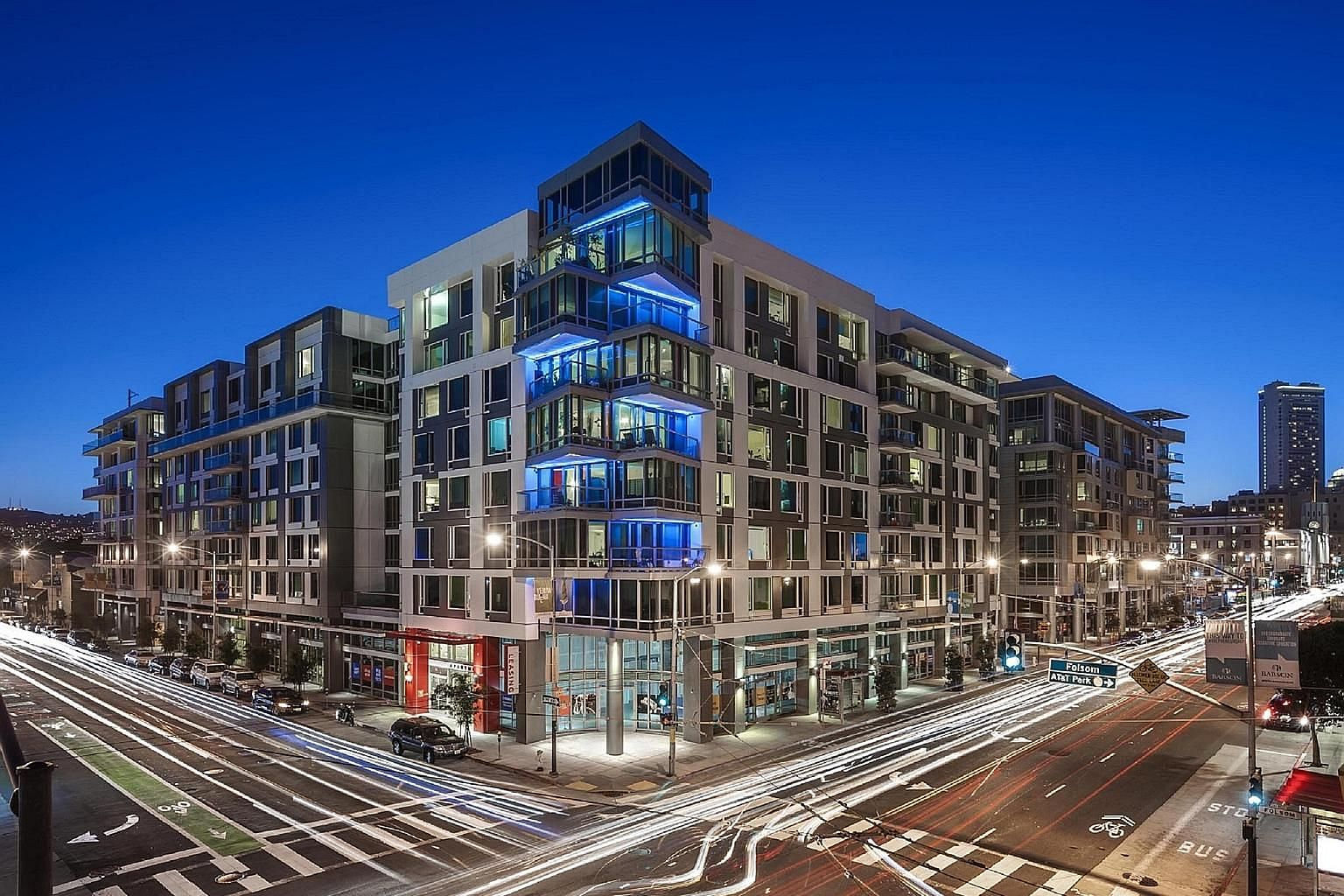 Mosso apartments in San Francisco, one of Synergy Global Housing's properties. The Ascott acquired an 80 per cent stake in Synergy for S$45.9 million.