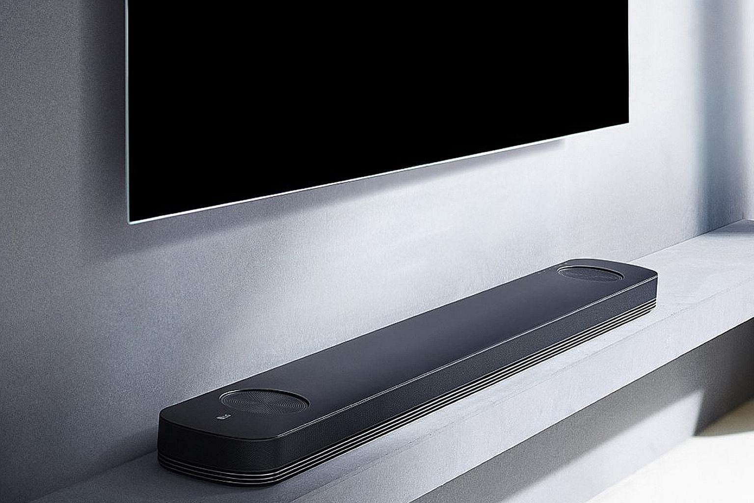 As a soundbar, LG's SJ9 does a competent job of replicating a 3D-sound environment with good surround depth and vertical height, and is able to give a convincing surround-sound atmosphere.