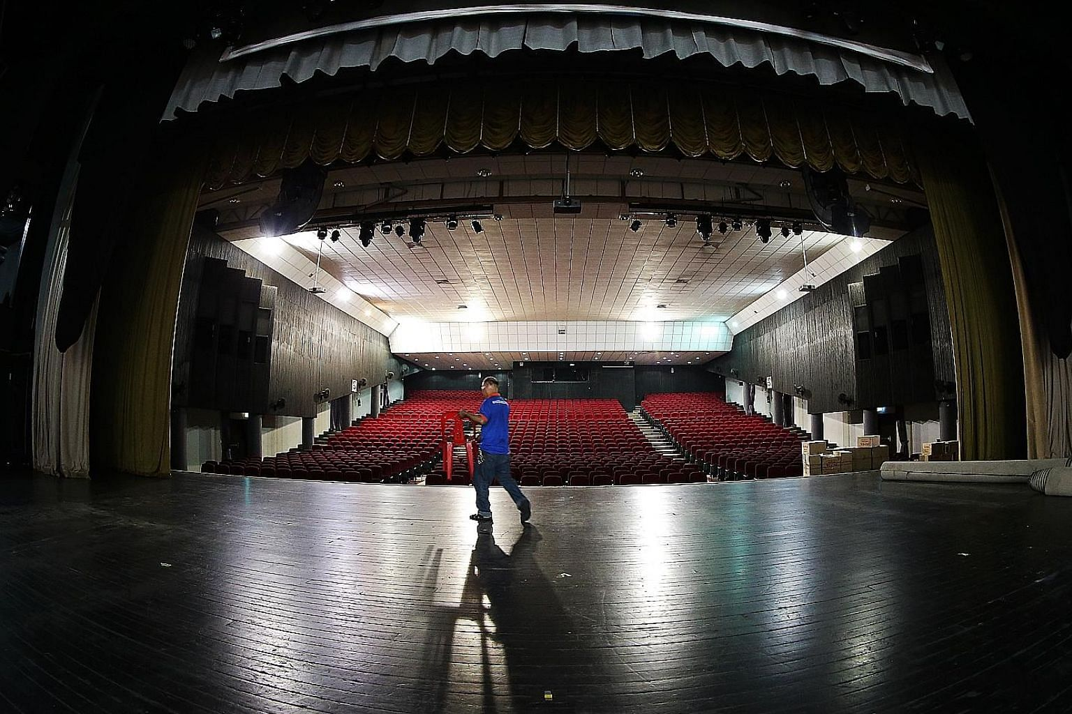 Kreta Ayer People's Theatre building is now managed by People's Association, giving it access to much-needed funds for a renovation.