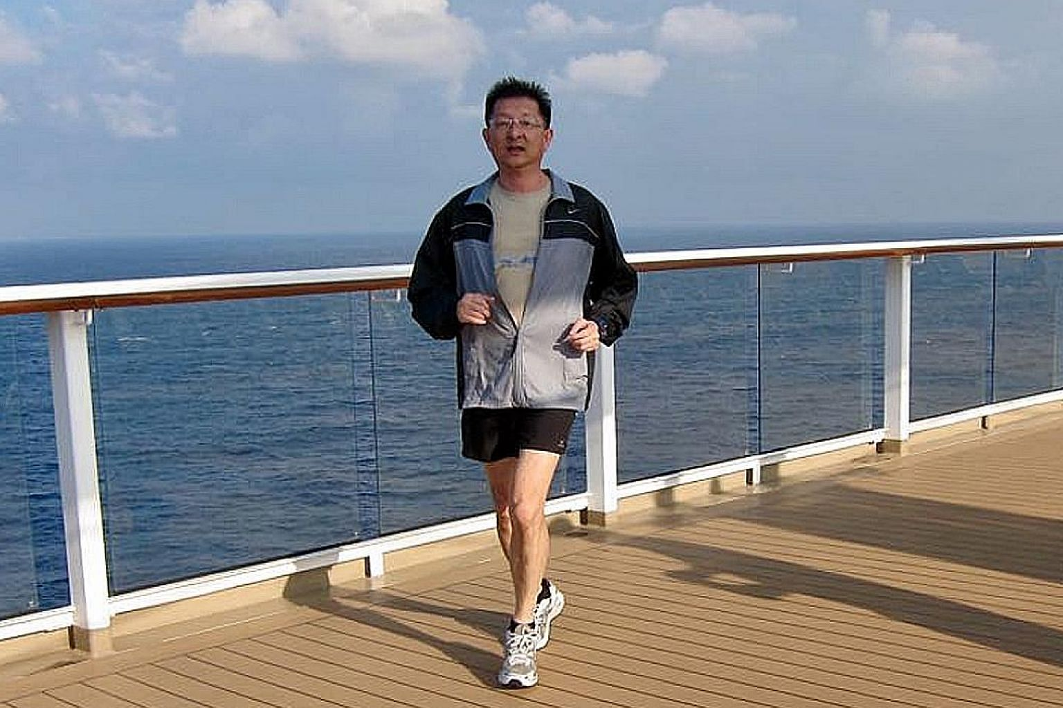 Mr Freddie Lim took part in full marathons during his younger years. But he preferred to run just 10km races of late.