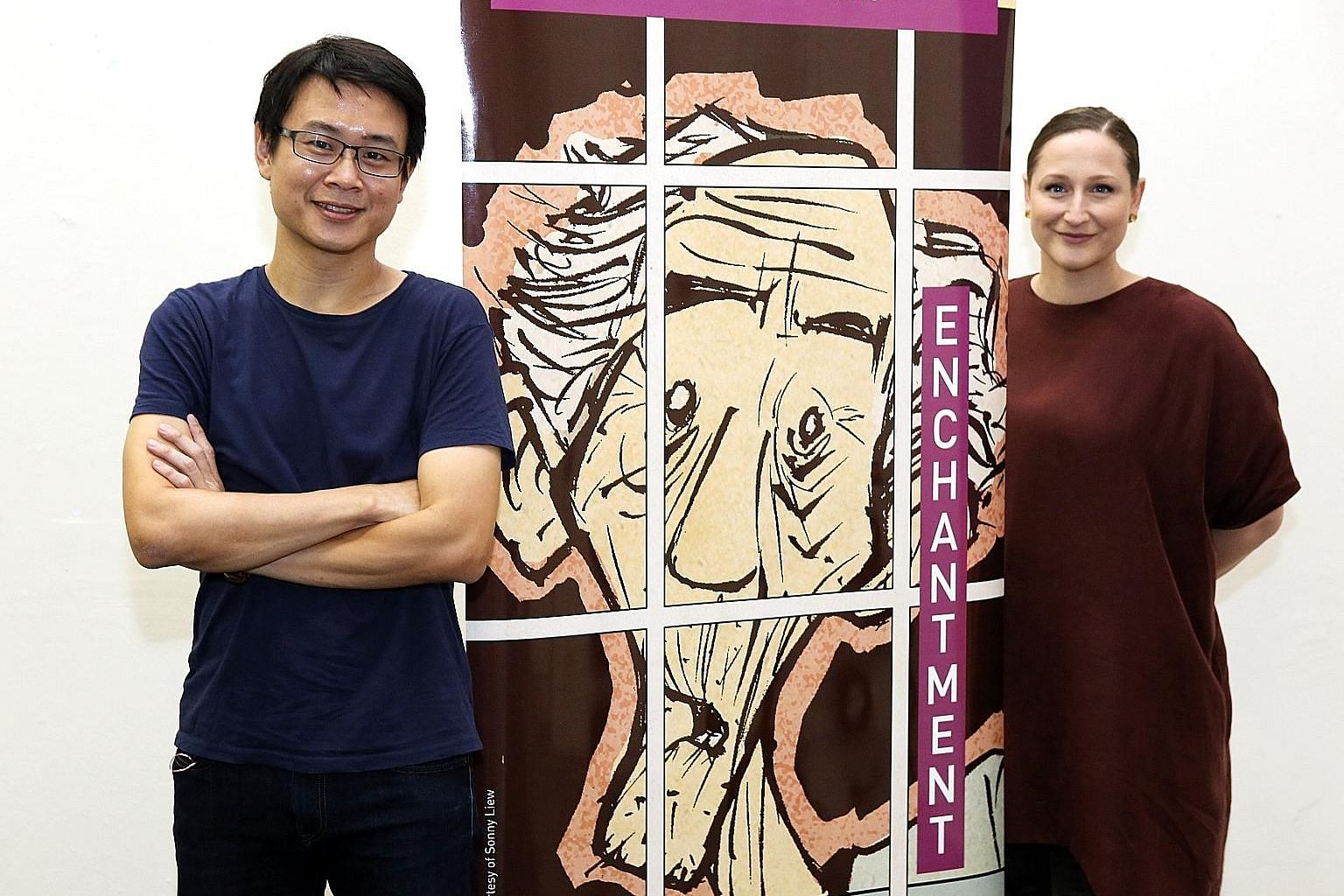 Two extra shows of Becoming Graphic, a collaboration between Sonny Liew and theatremaker Edith Podesta, have been added due to overwhelming demand.