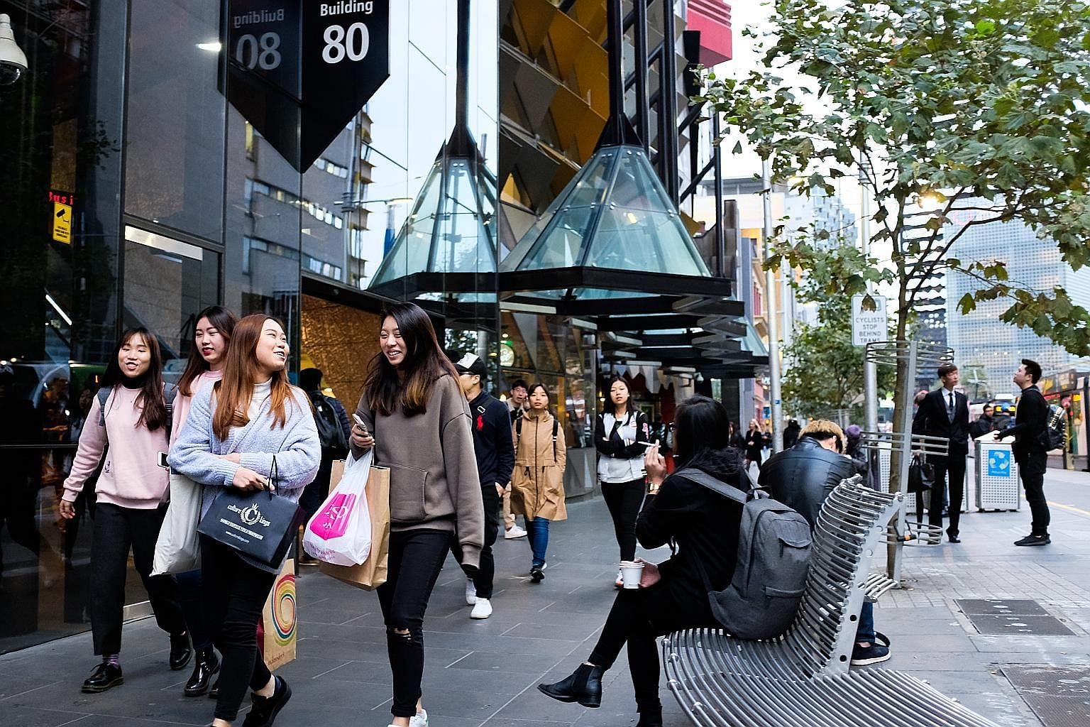 """Anti-Chinese posters were found at the University of Melbourne and Monash University on Monday, with the discovery coming amid an influx of students from mainland China to Australian schools. The posters in awkwardly worded Chinese read: """"Attention!"""