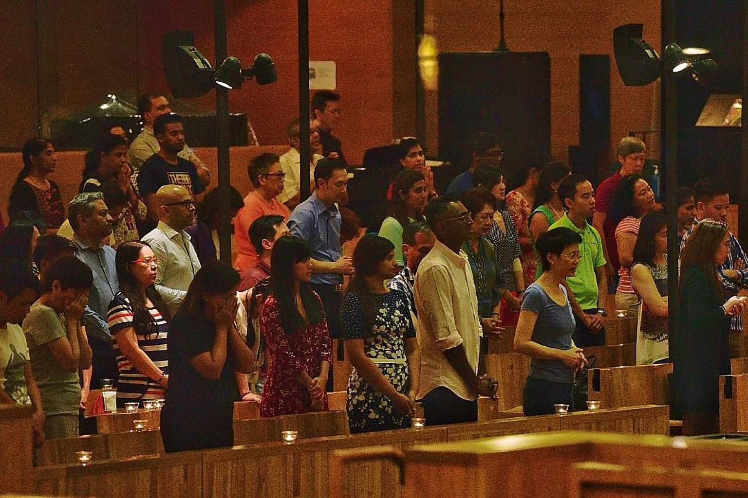 A mass was held last night at the Church of St Mary of the Angels to pray for the safe return of Singaporean diver Rinta Paul Mukkam, who has been missing for two weeks. She had been on a diving trip off Komodo Island in Indonesia.