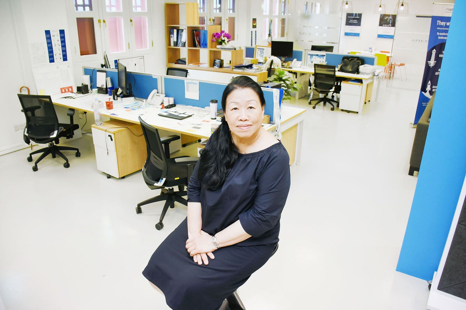 Madam Ivy Lim was hired by LogRhythm in March as a telesales executive and quickly became the company's best-performing telesales employee in the region.