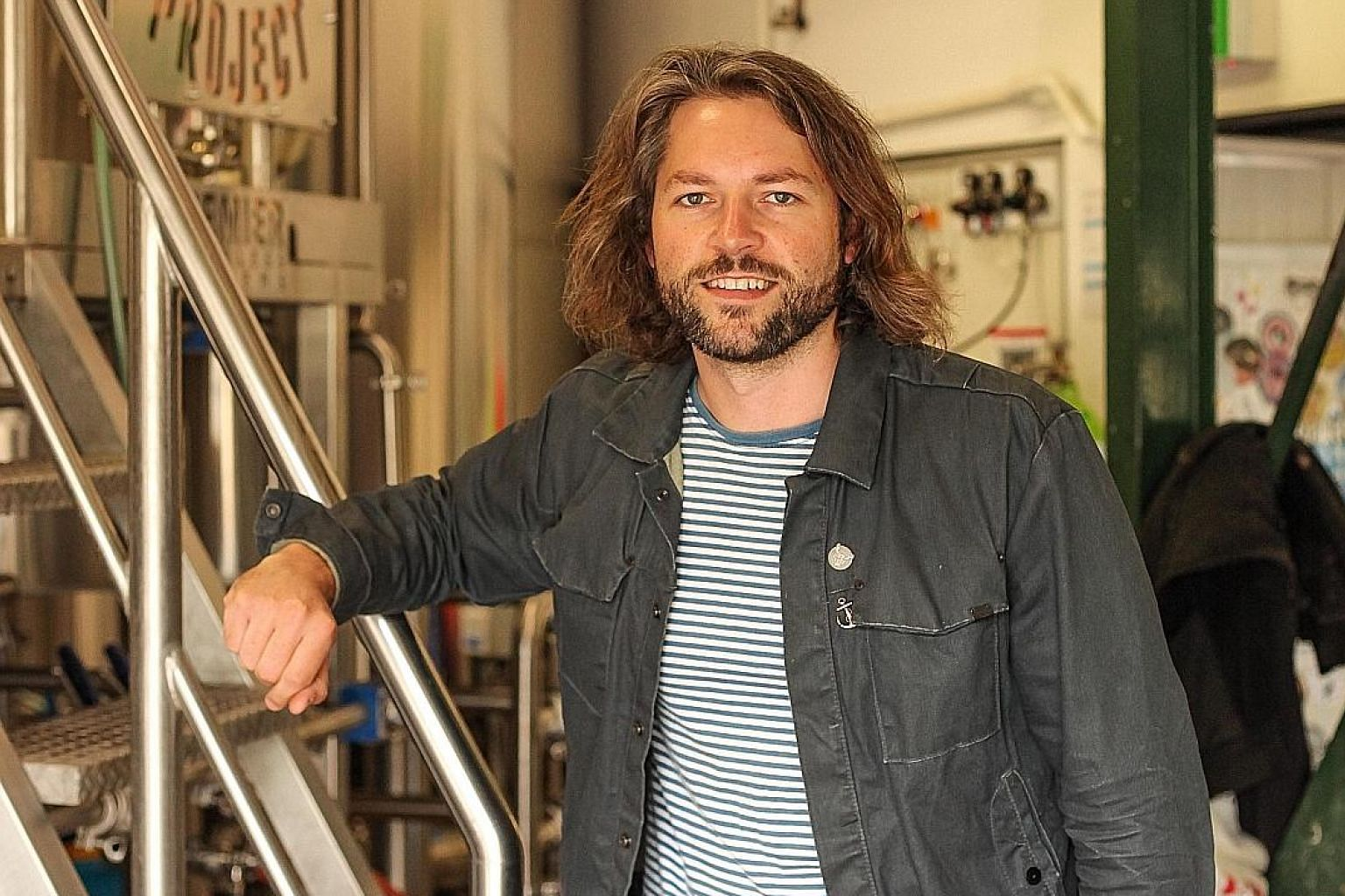 Mr Jos Ruffell, co-founder of micro-brewery Garage Project, which has up to 35 different beers listed each month.