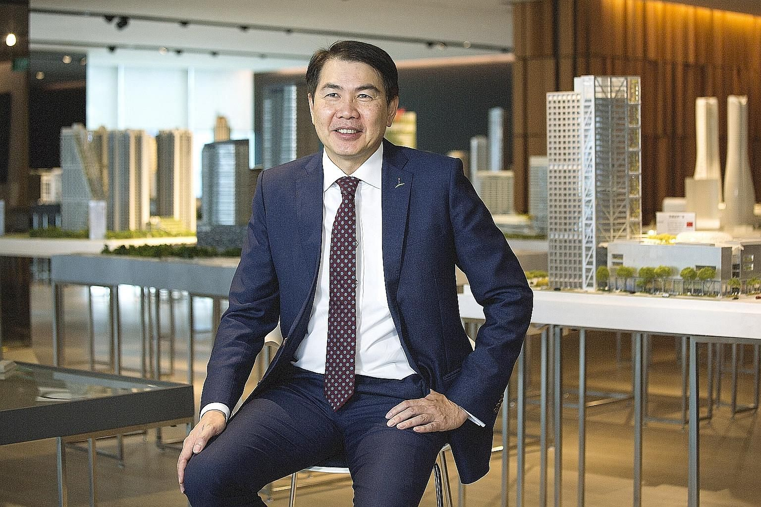 Mr Lim Ming Yan, CapitaLand's president and chief executive, told Bloomberg TV he had detected signs private home prices were bottoming out after years of price falls.