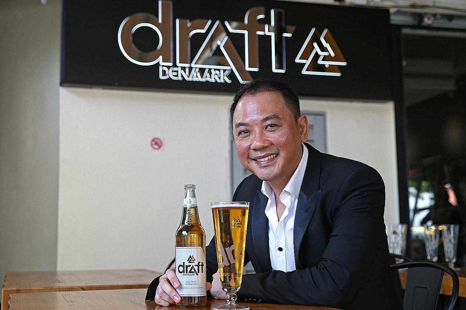 No Signboard Seafood's chief executive Sam Lim is targeting millennials with Draft Denmark.