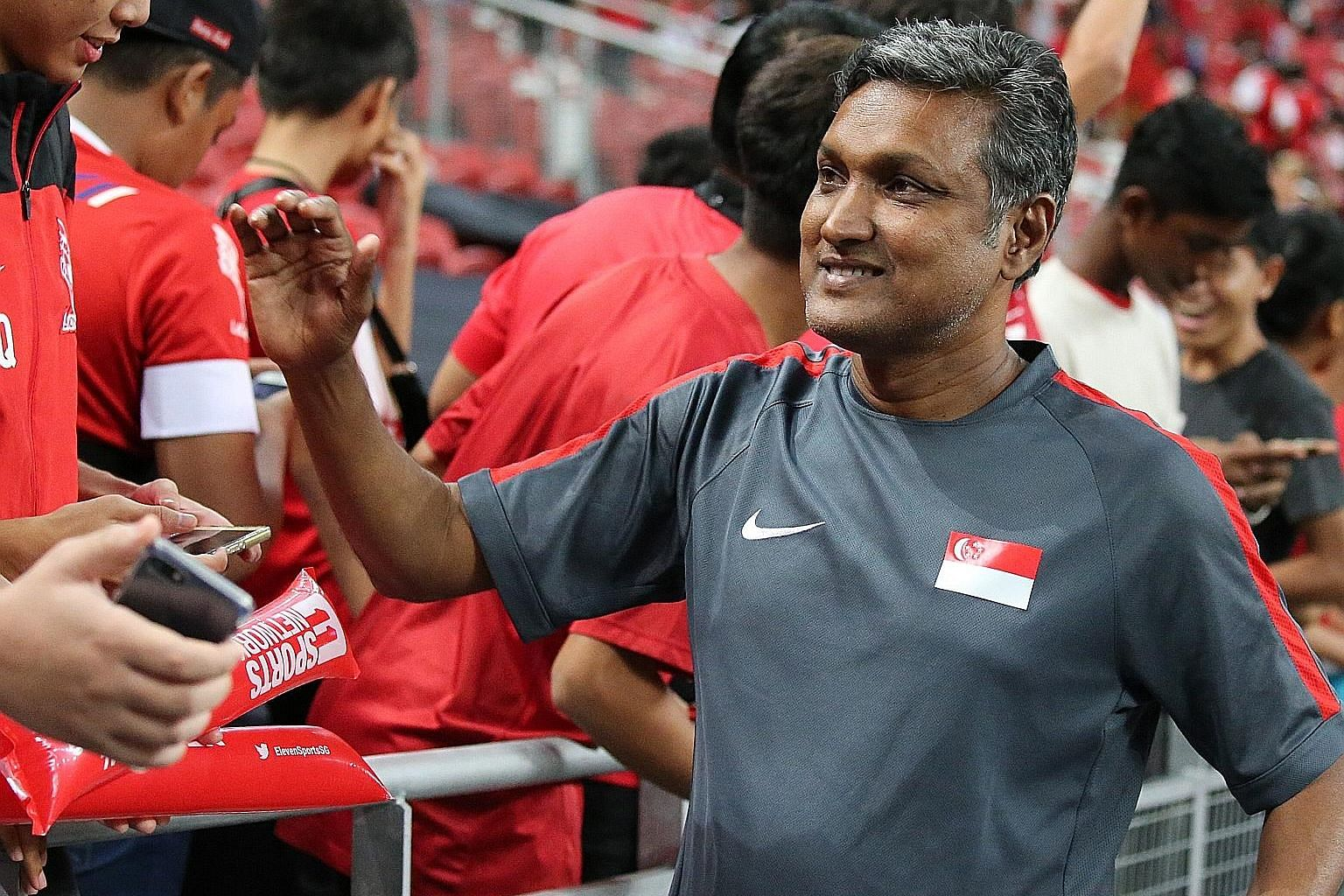 Despite criticism of national coach V. Sundram Moorthy's tactics, FAS president Lim Kia Tong believes the tactician will deliver.